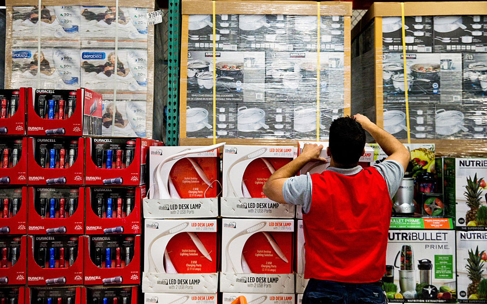 Inside A Costco Wholesale Corp. Store Ahead Of Earnings Figures