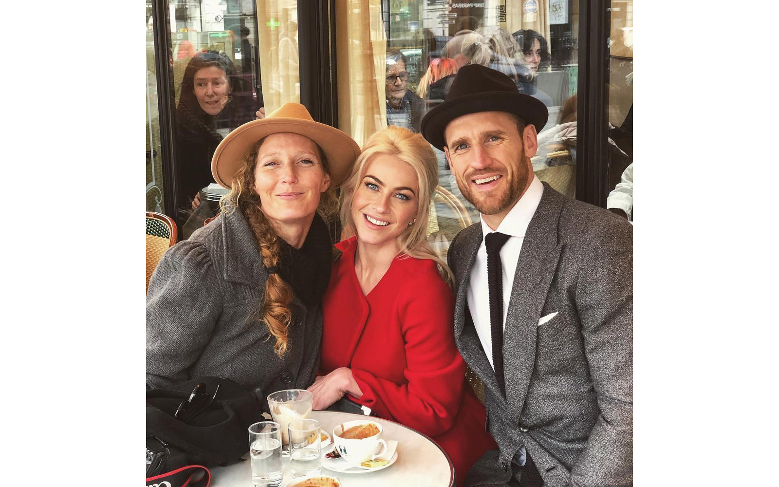 Julianne Hough and Brooks Laich with their photographer Sarah Falugo