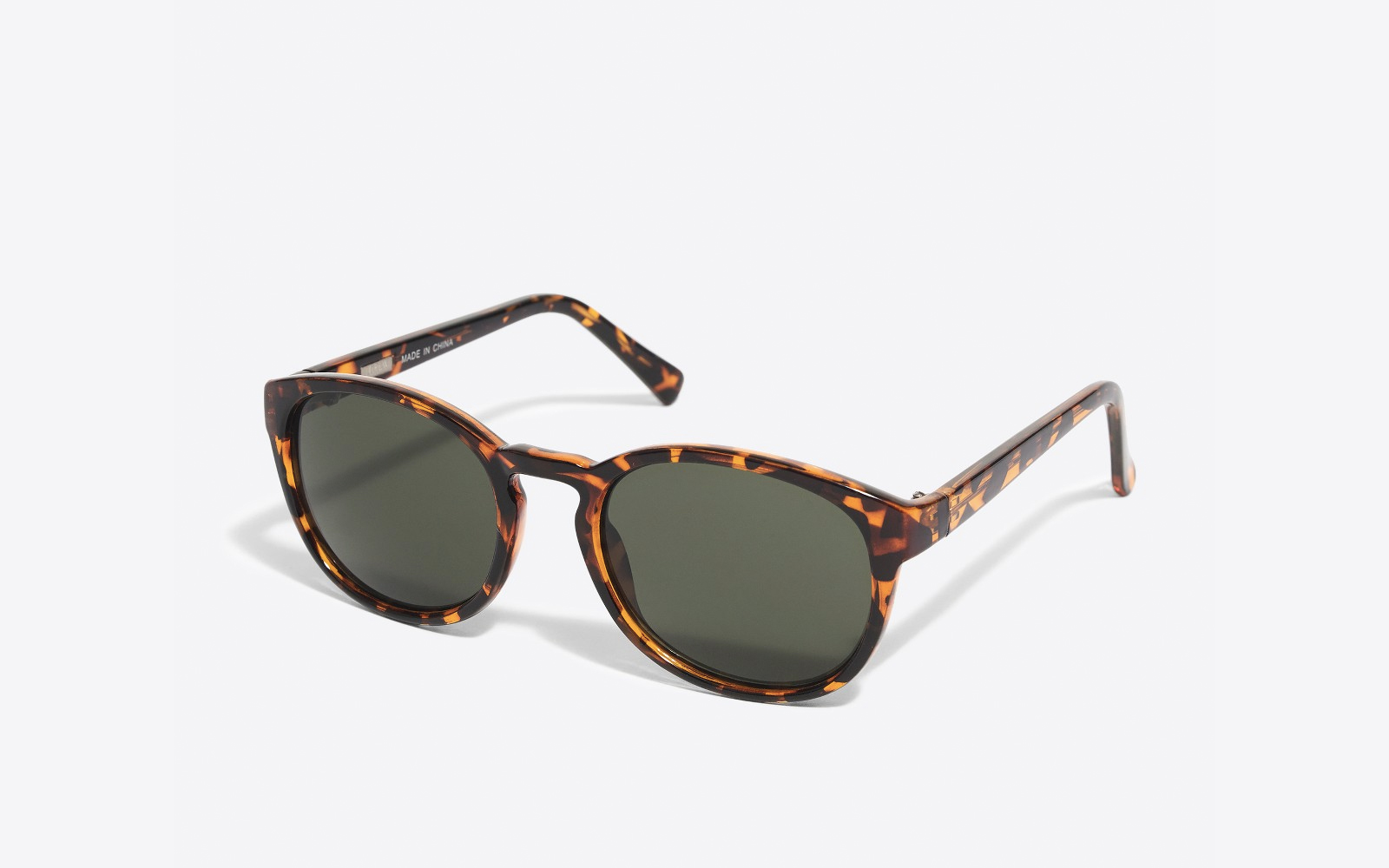 Men's Round Frame Sunglasses