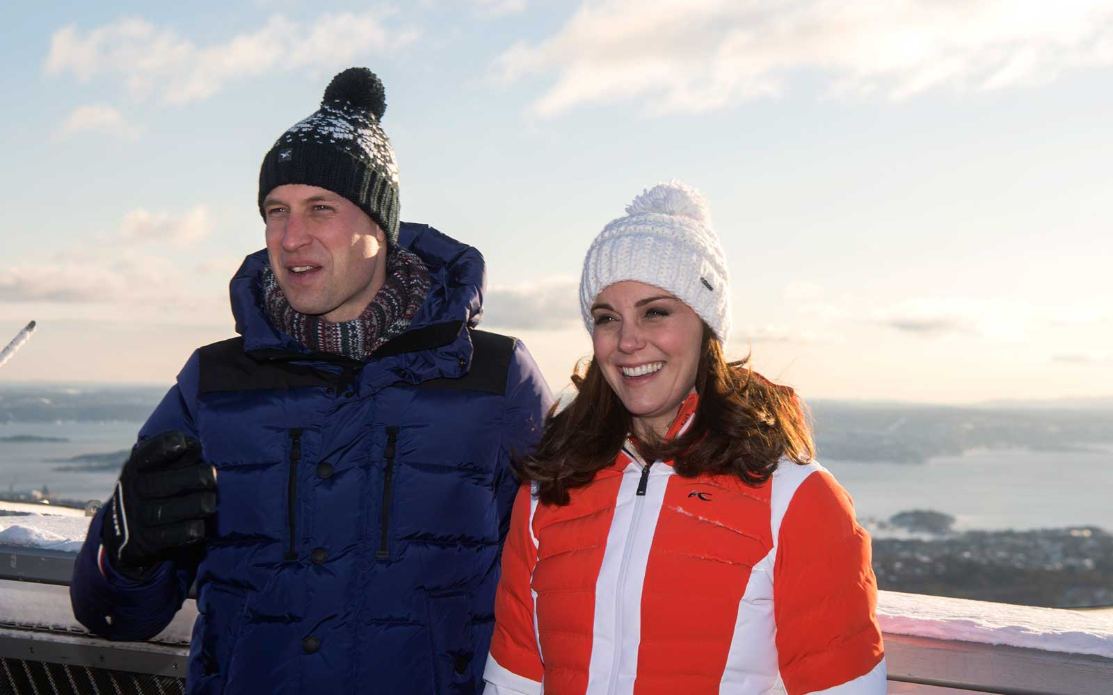 Prince William and Catherine Duchess of Cambridge touring Sweden and Norway