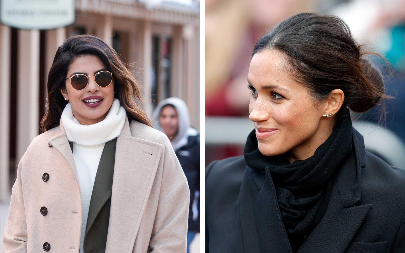 Priyanka Chopra and Meghan Markle