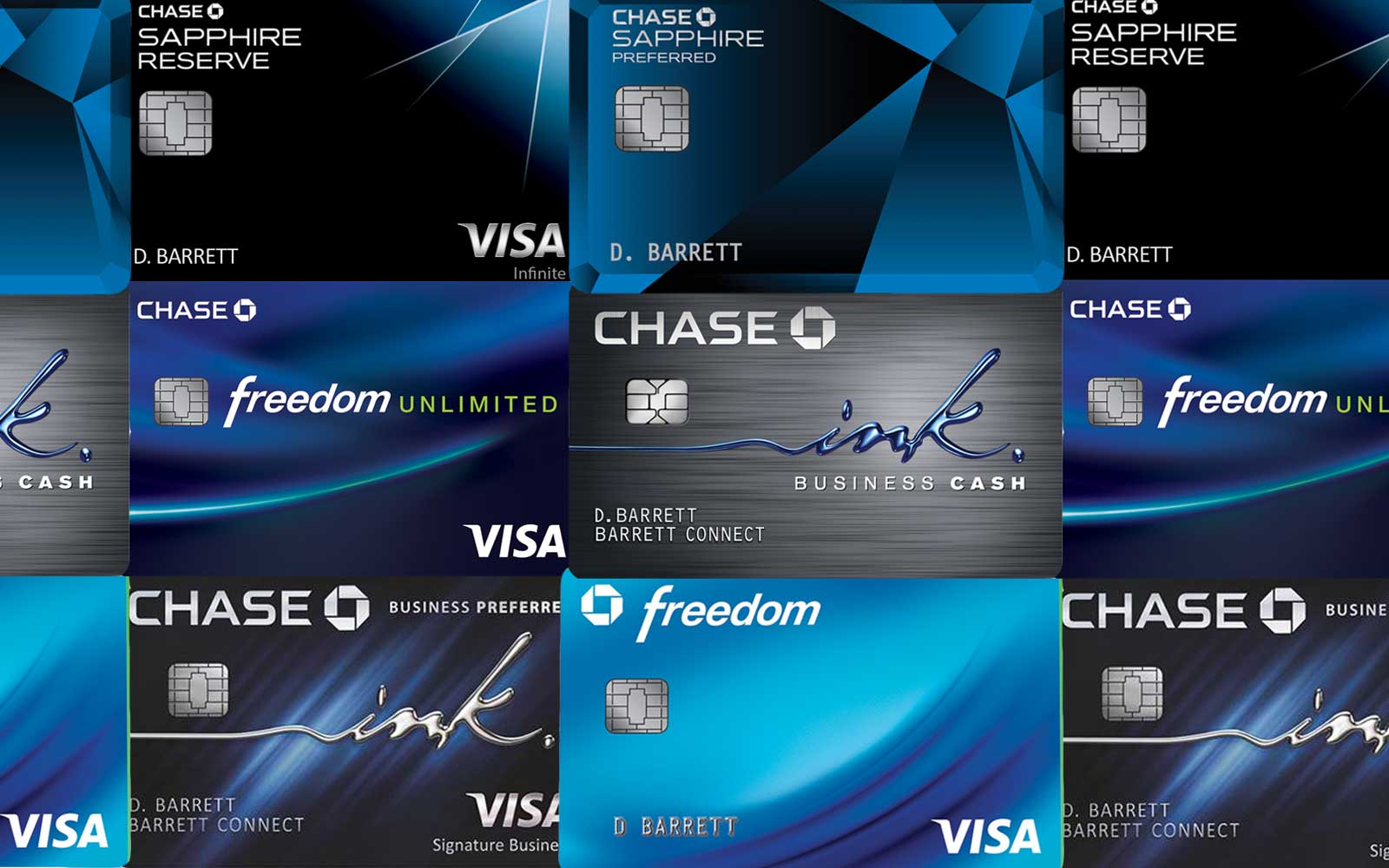 Chase Reward Cards
