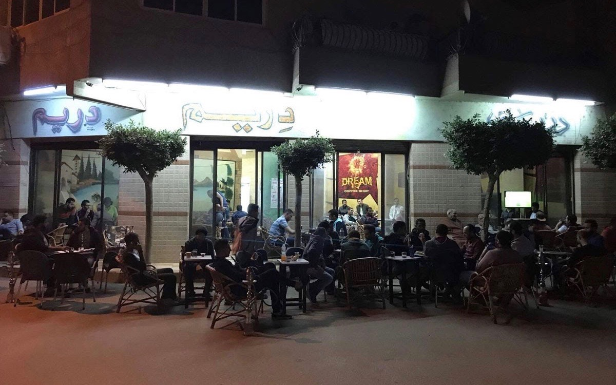 coffee shop in Banha, Egypt, recorded for Soundscapes project by Orbitz