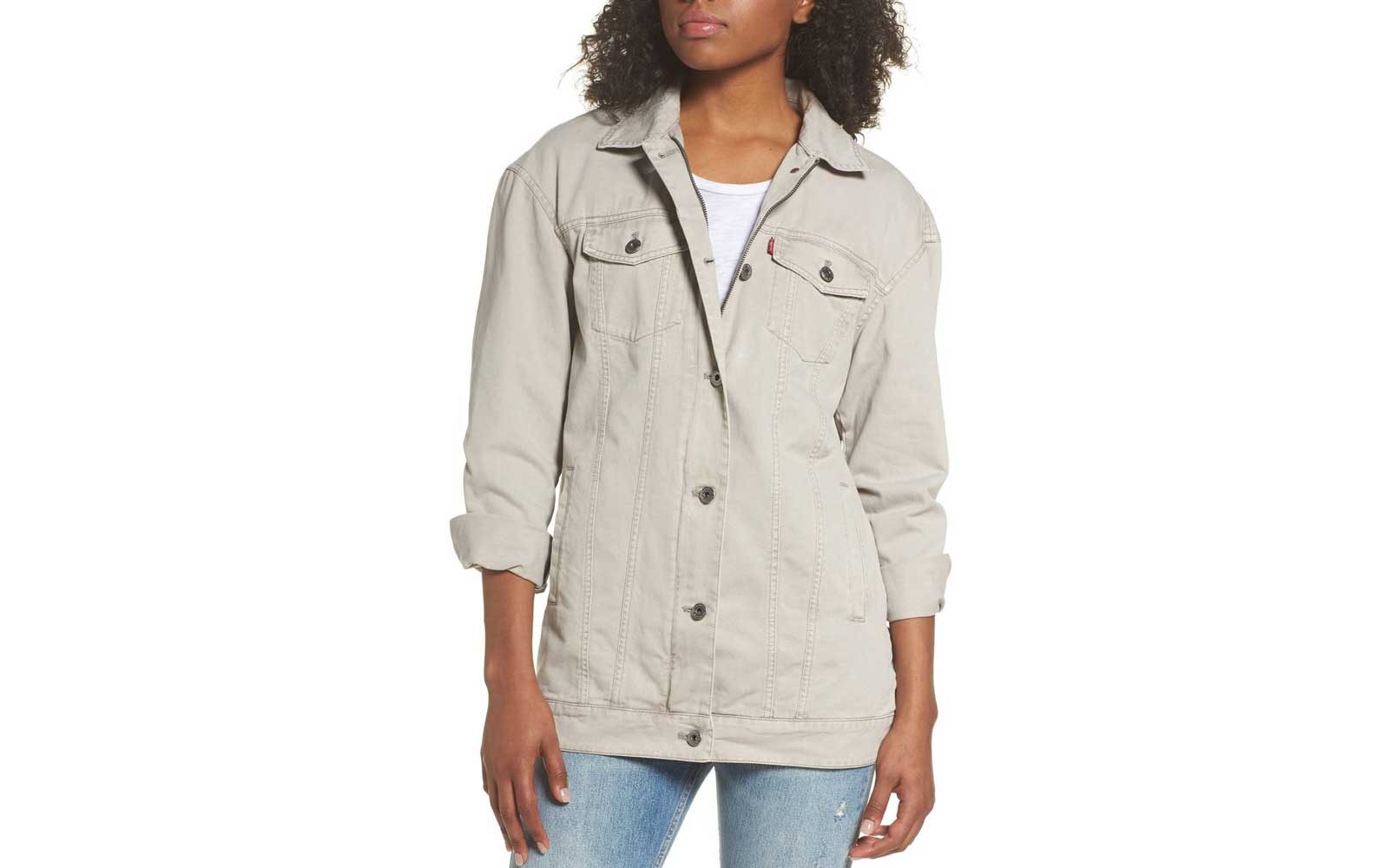 Levi's Oversize Cotton-canvas Trucker Jacket
