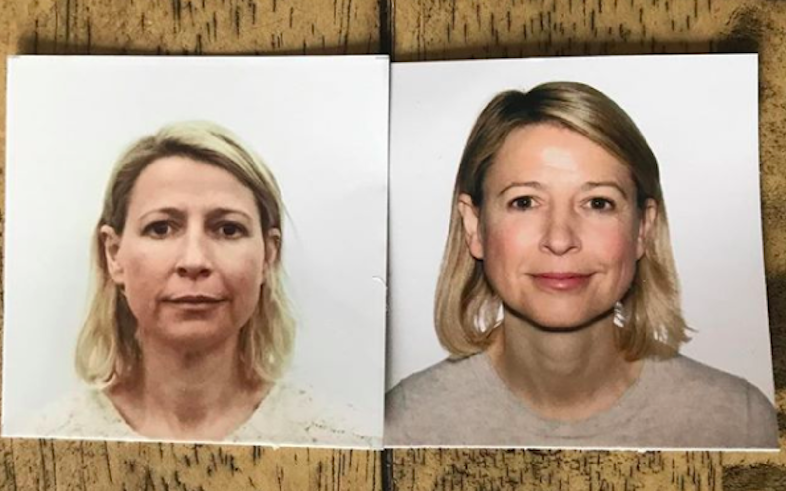Travel TV personality Samantha Brown shares her passport photos