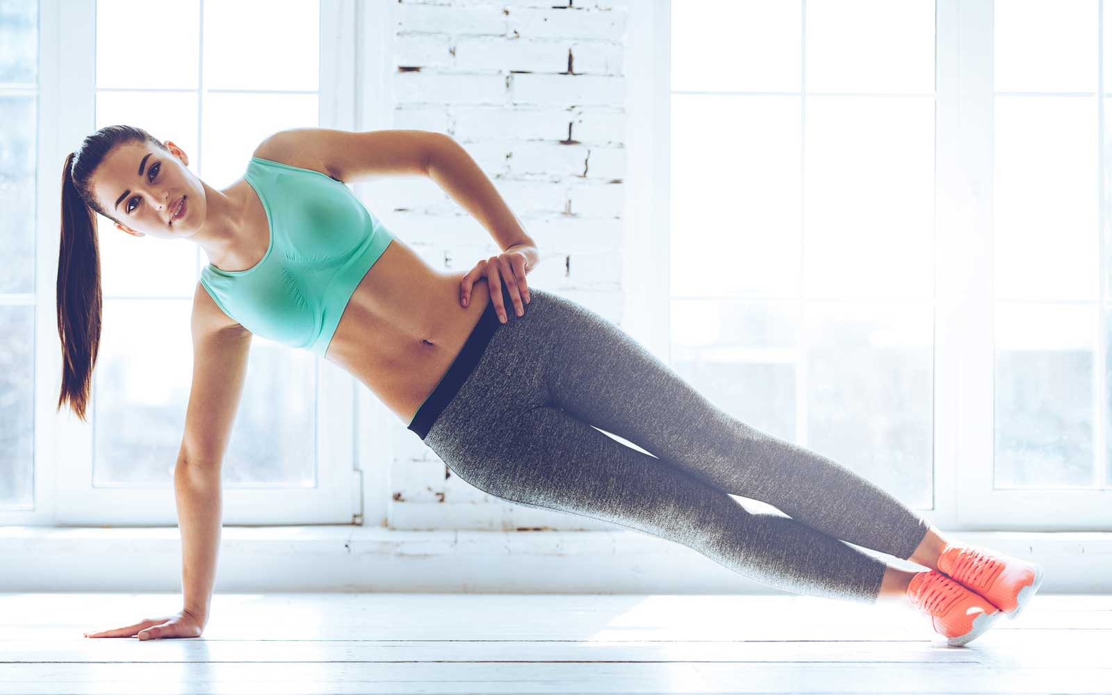 Perfect side plank.