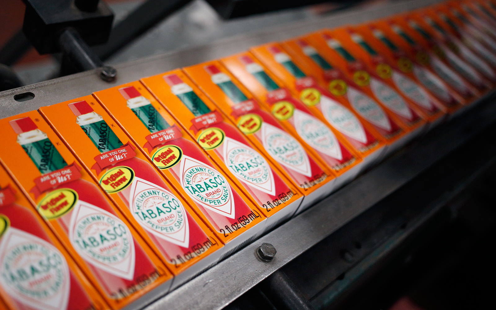 Inside The Tabasco Hot Sauce Production Facility As Wholesale Inventories Rise