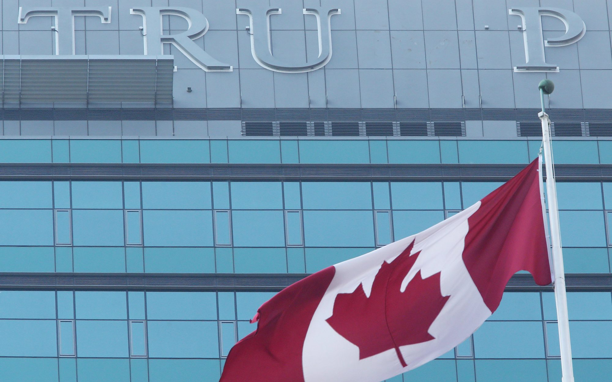 trump hotel toronto name removed