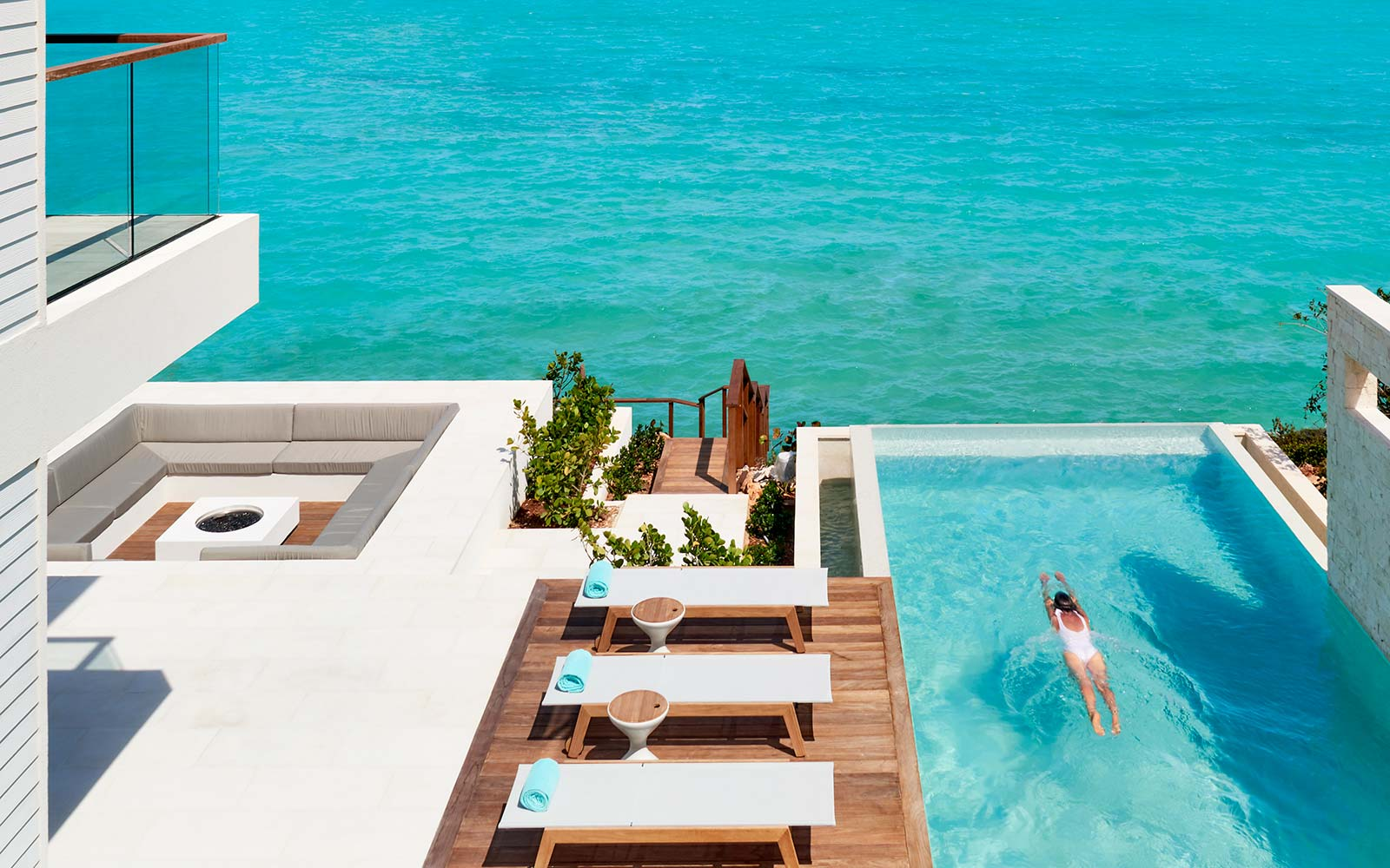 Turks and Caicos Gansevoort Hotel Resort Oceanfront Villa