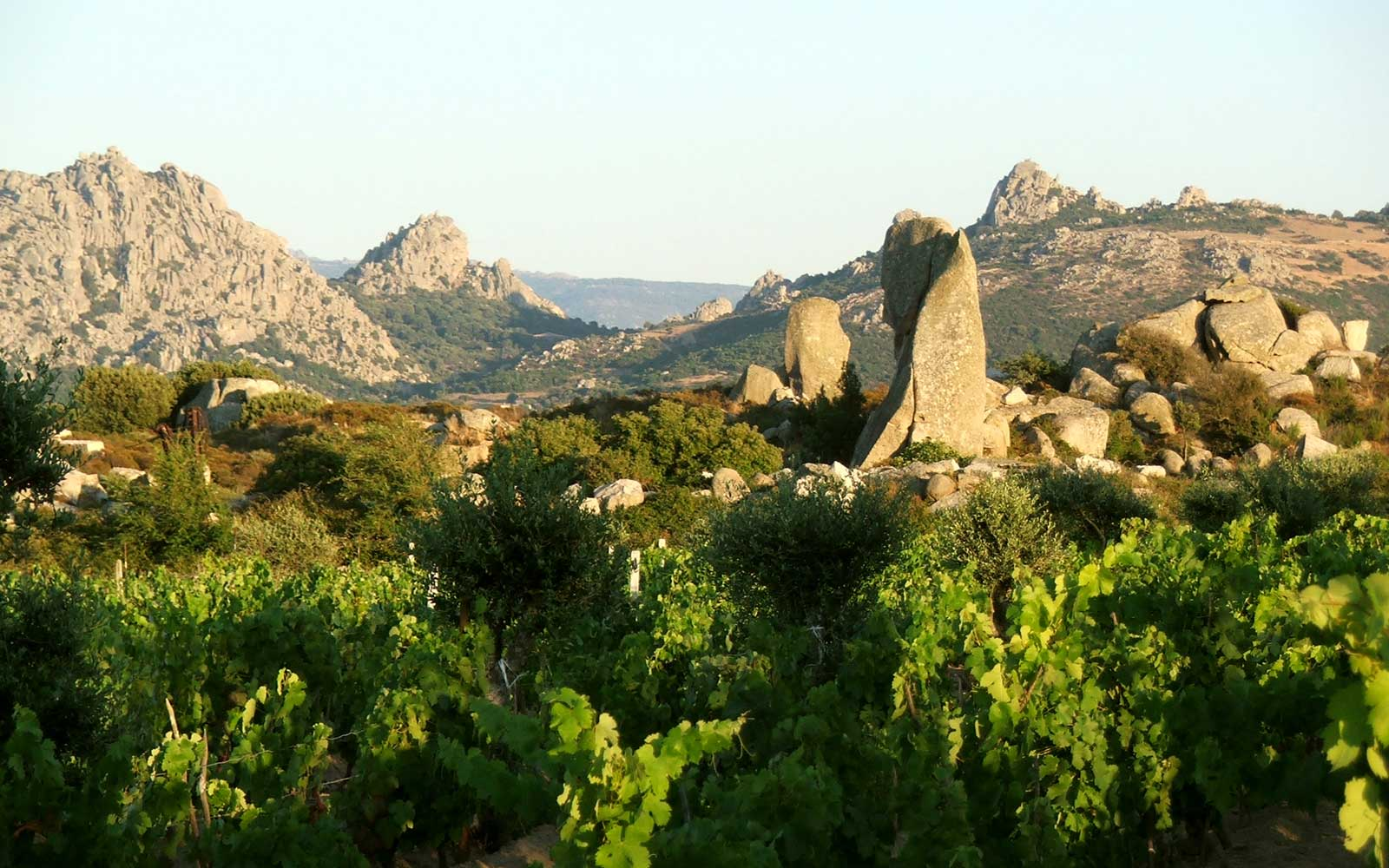 """The Valley Of The Moon"" - an amazing landscape on the Italian island of Sardinia"