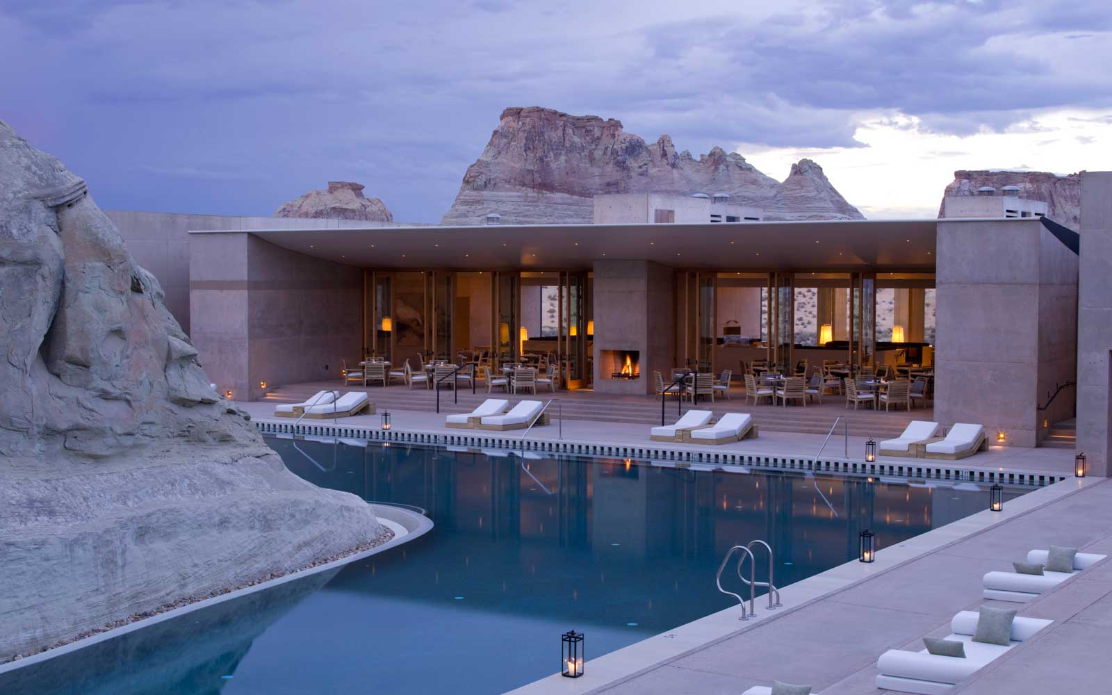 Amangiri Resort in Canyon Point, Utah