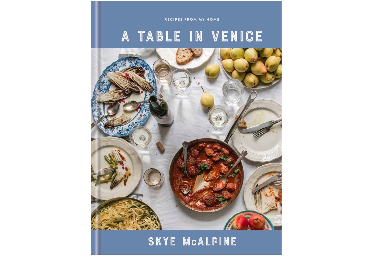 A Table in Venice by Skye McAlpine cookbook cover