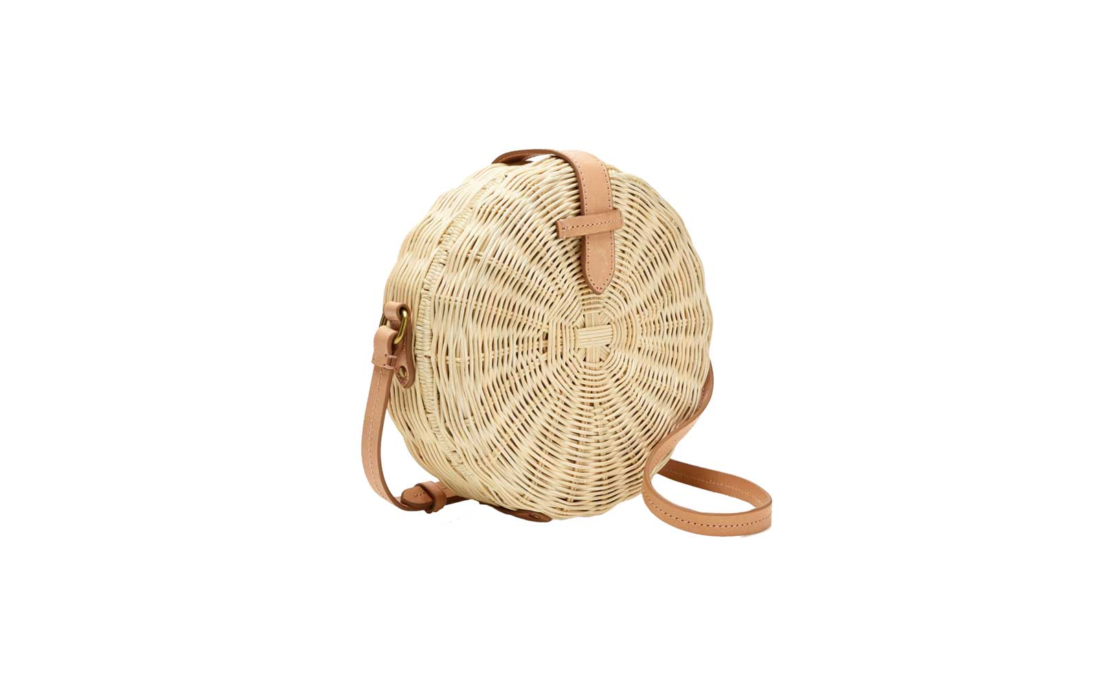 J.Crew Circle Straw Cross-body Bag