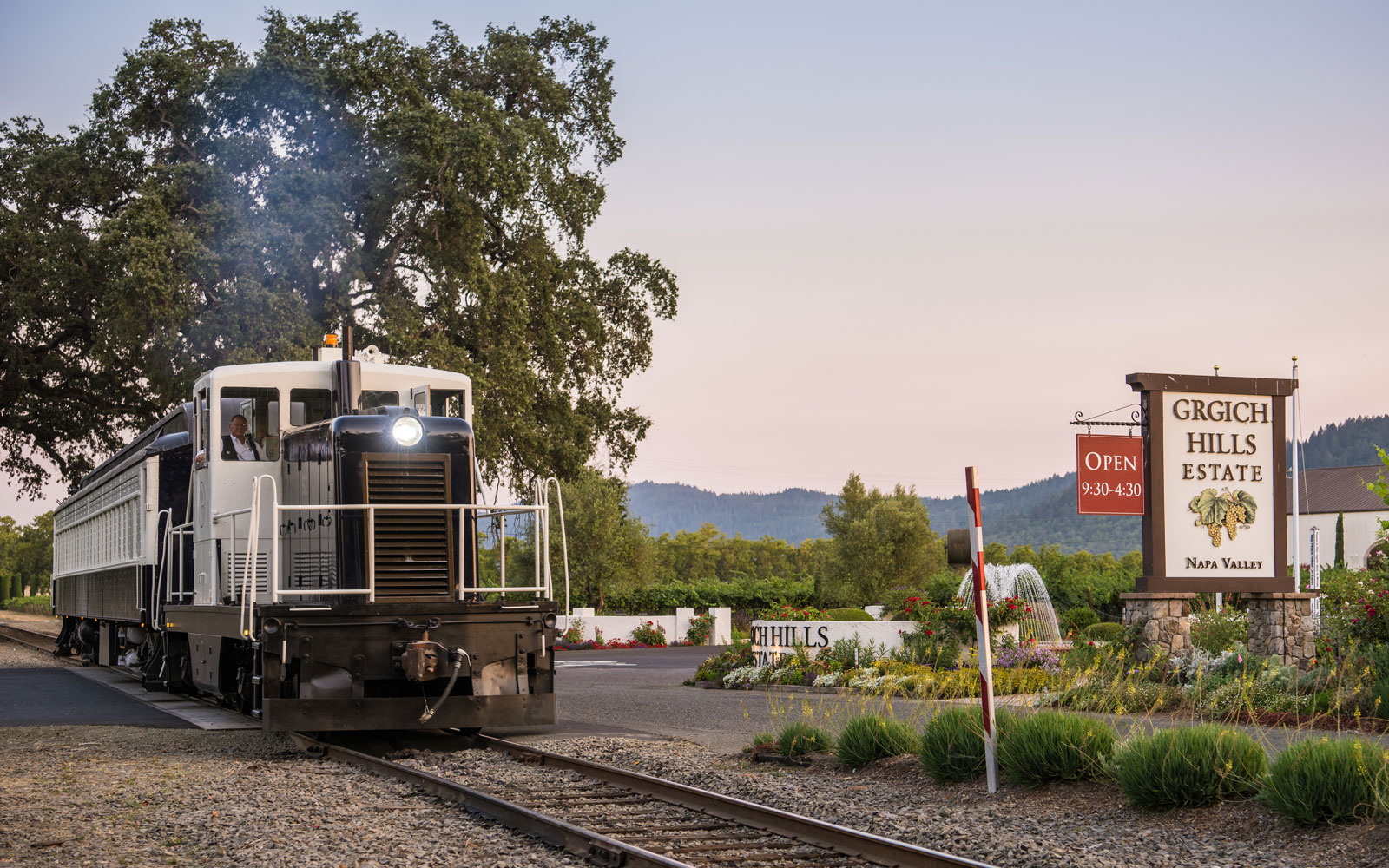 napa valley tequila train