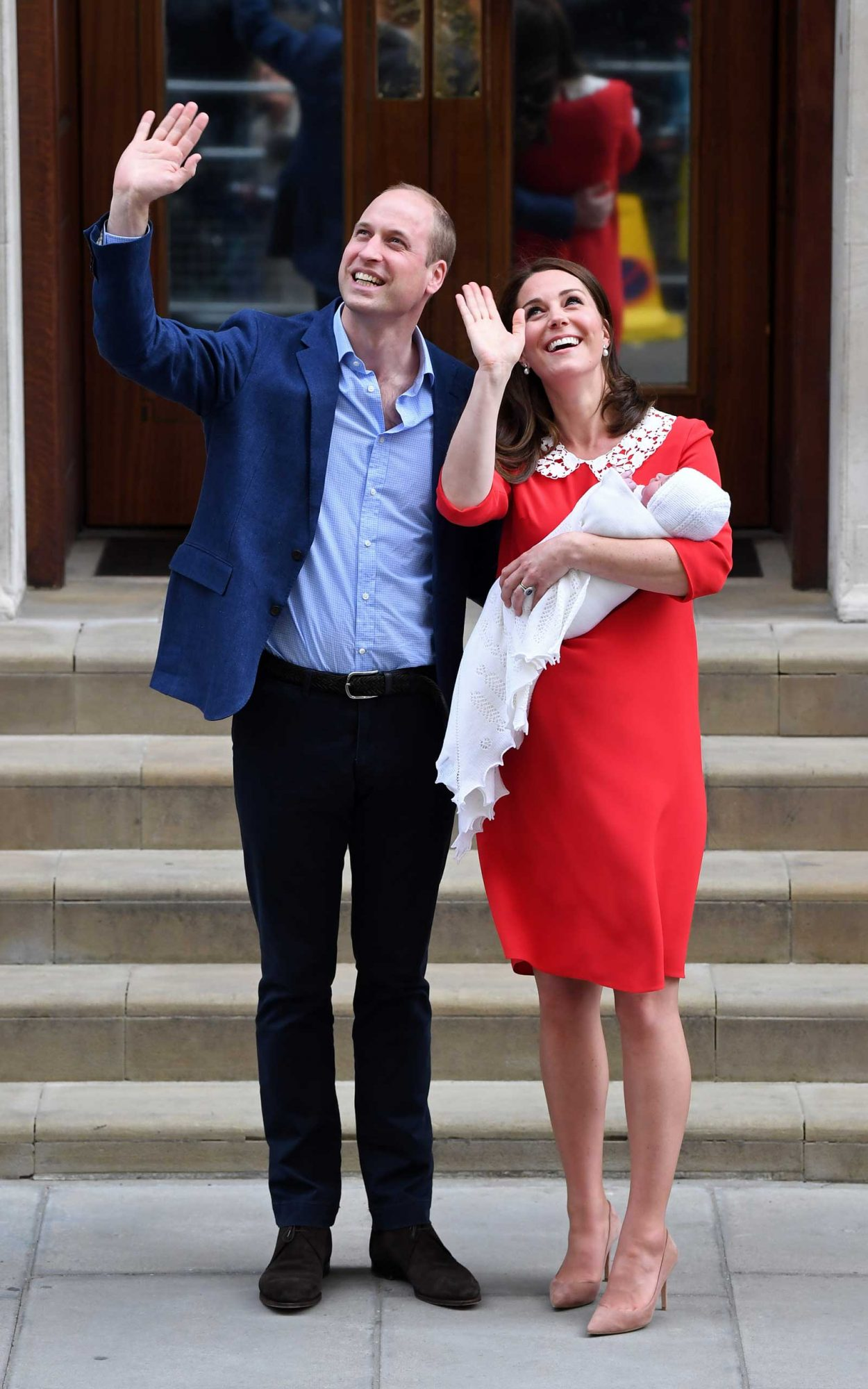 Prince William and Catherine Duchess of Cambridge welcome new baby boy