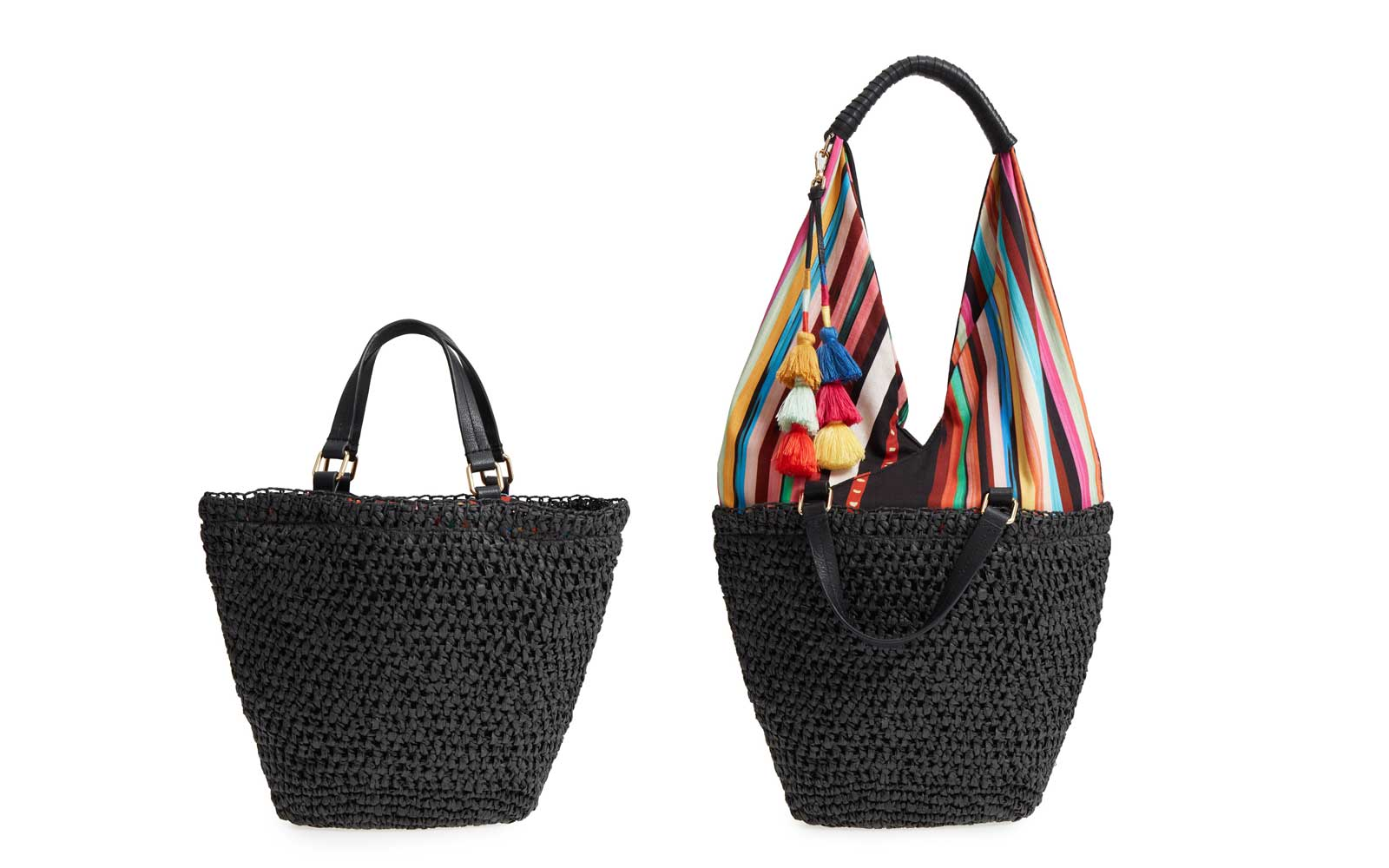 straw bag vince camuto