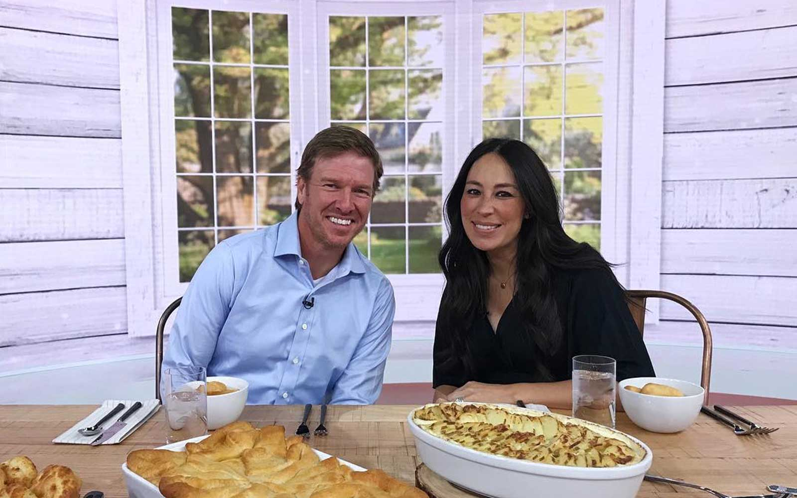 Chip and Joanna Gaines kicking off launch of 'Magnolia Table' on the 'Today Show'