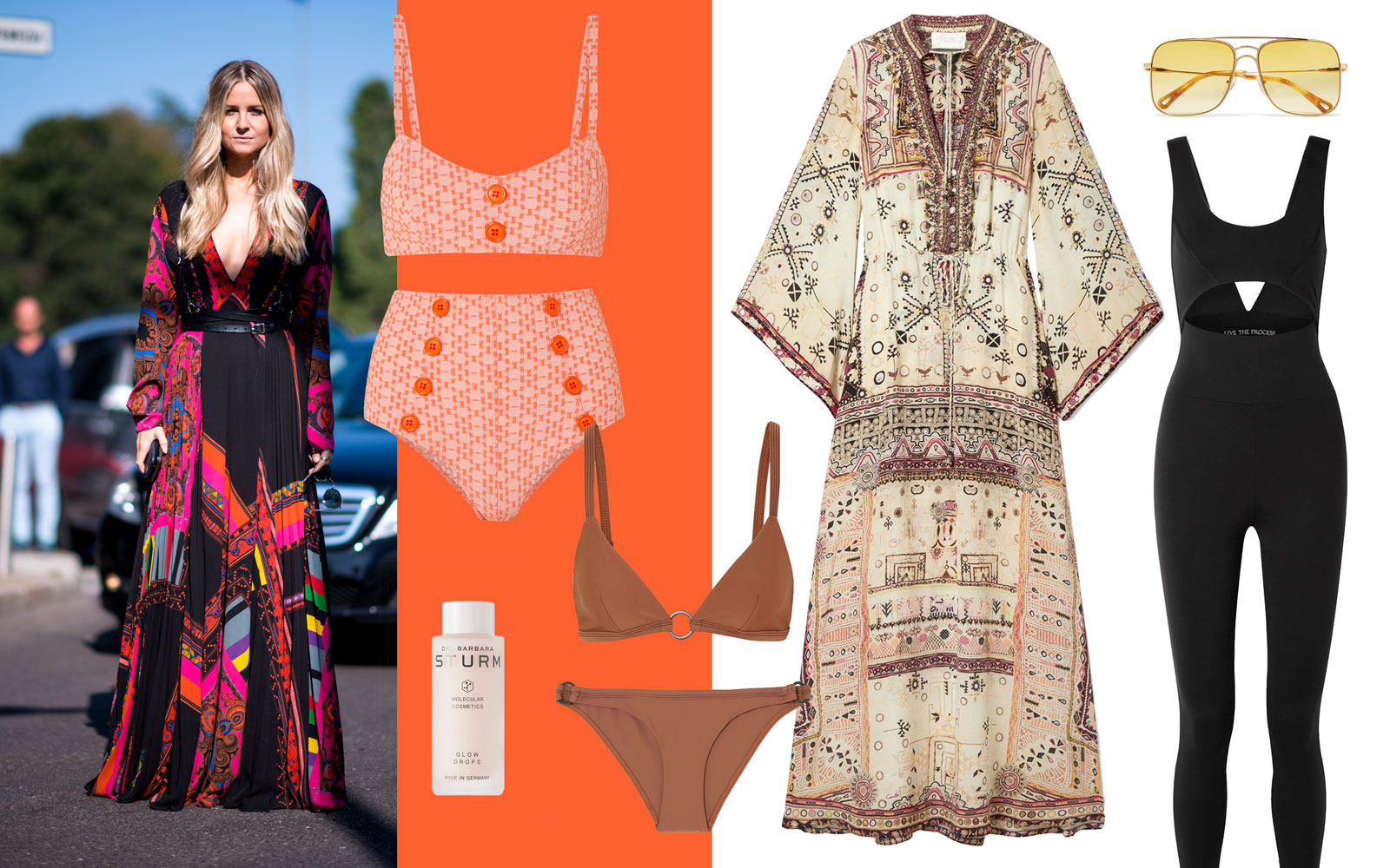 Holly Russell net-a-porter summer packing
