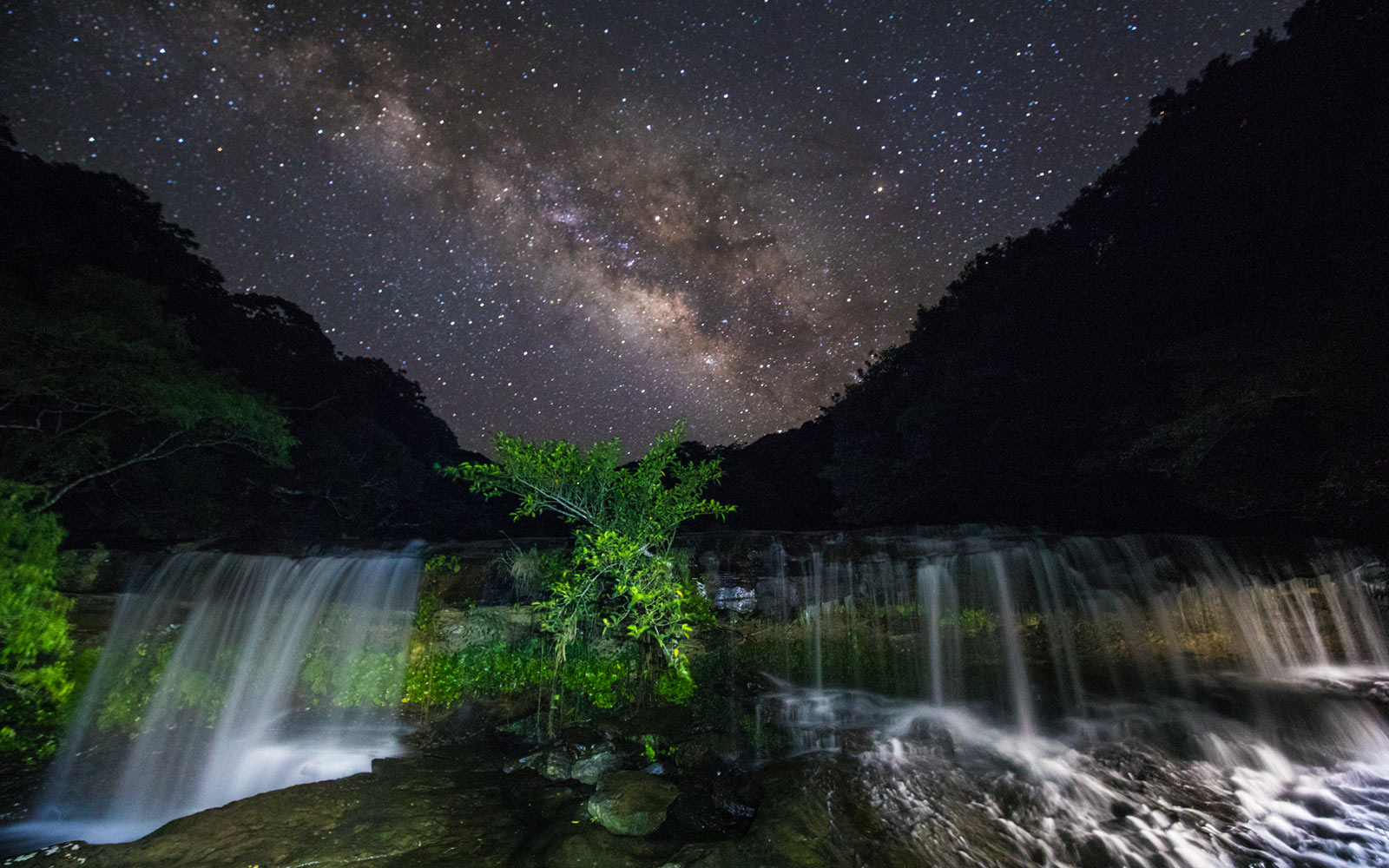 Newest Dark Sky Park, Iriomote Ishigake National Park, Japan