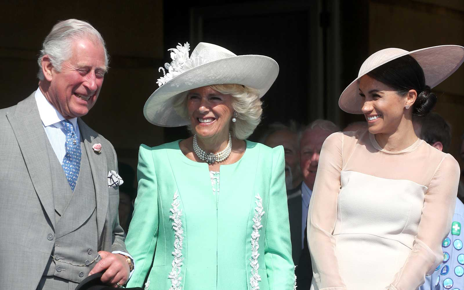 Prince Charles, Prince of Wales, Camilla, Duchess of Cornwall and Meghan, Duchess of Sussex