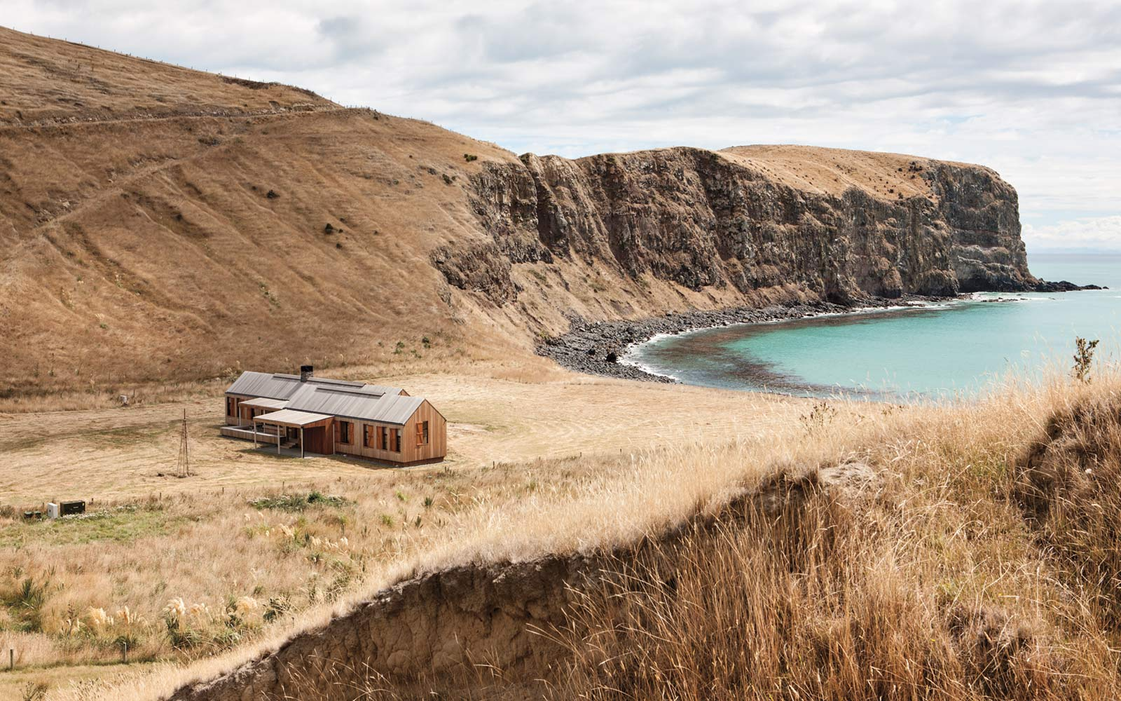 Scrubby Bay House, Banks Peninsula, New Zealand