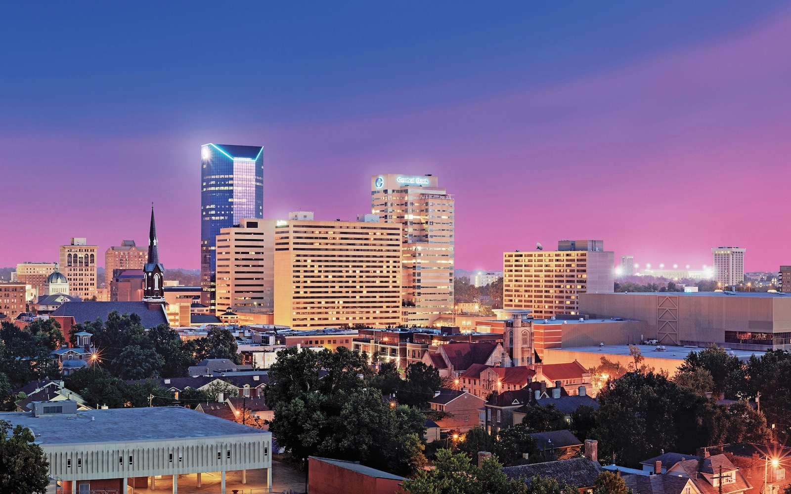 Lexington Kentucky skyline