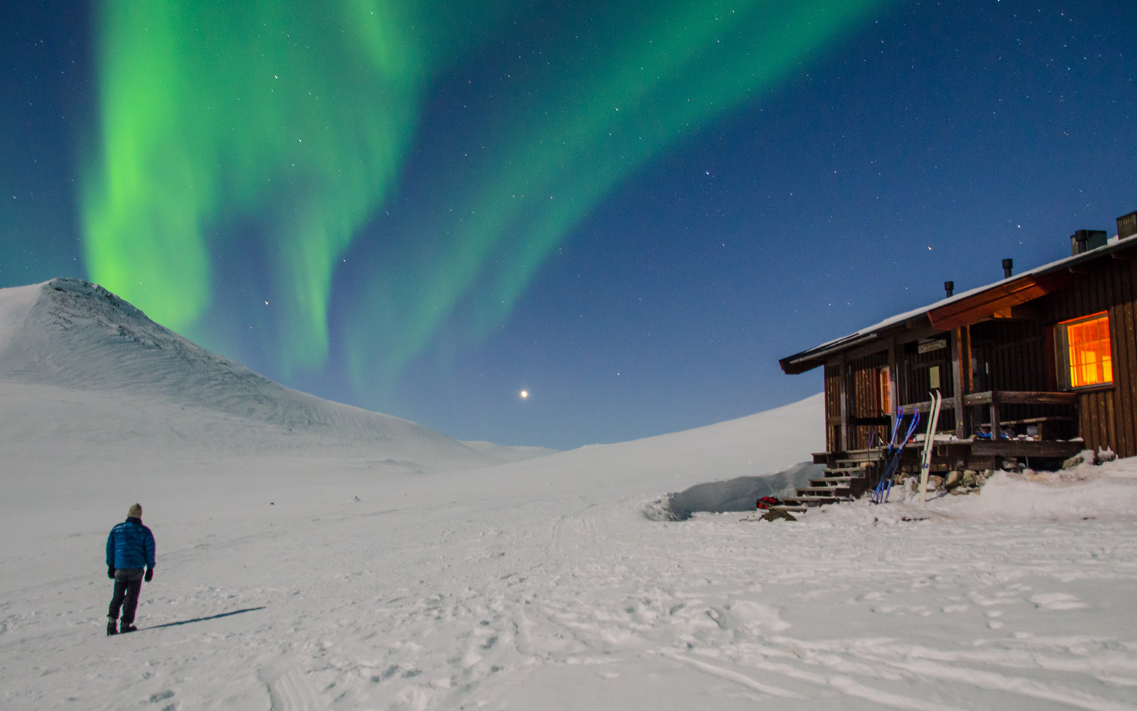 Wilderness ski across Lapland, Finland and Norway