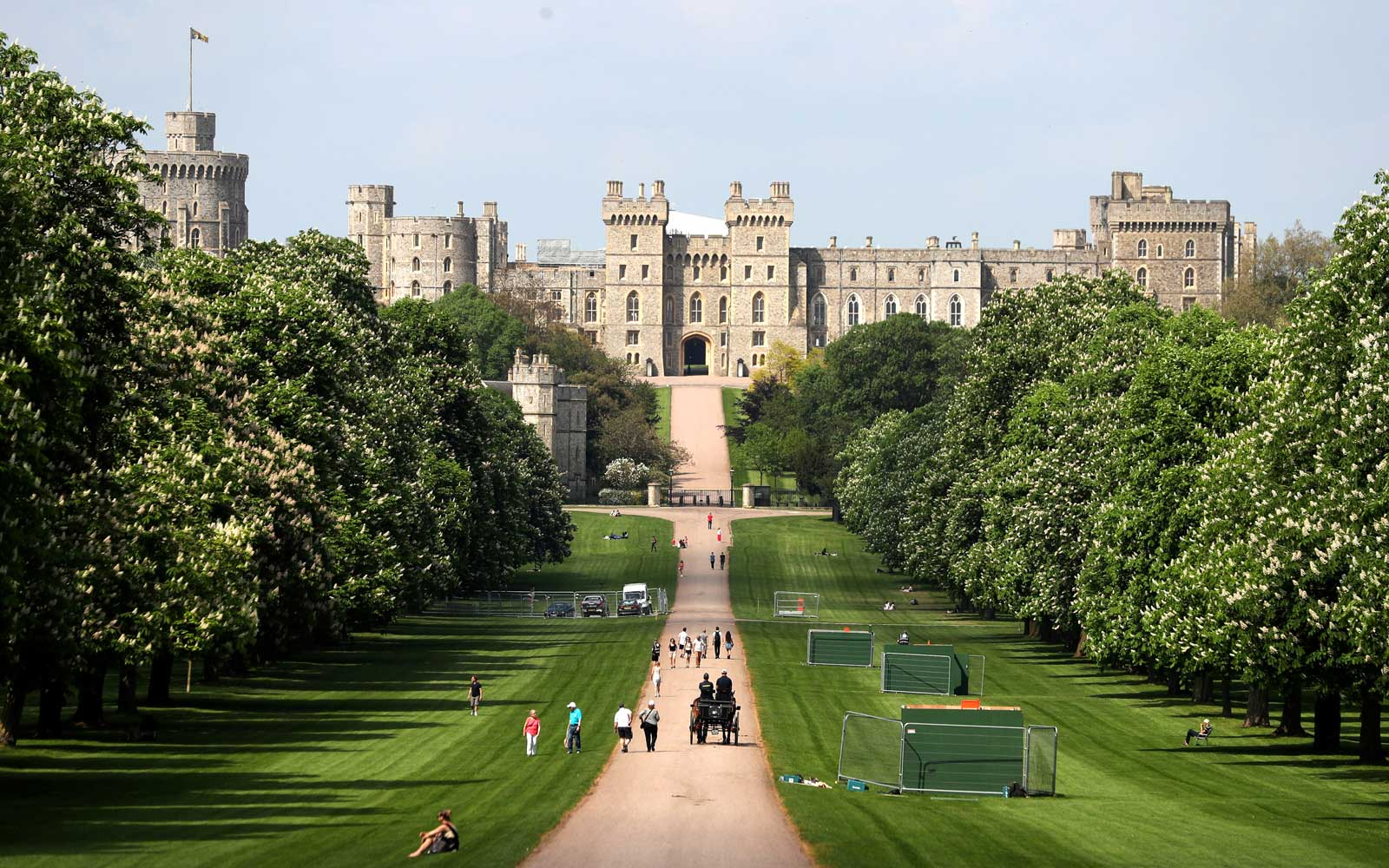 Windsor Castle in Windsor, west of London