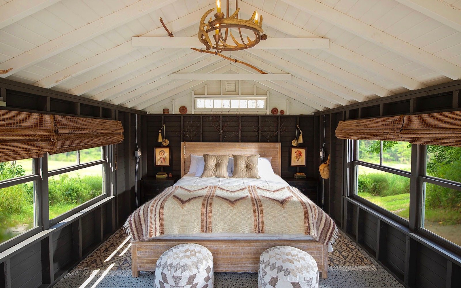 interior of a Camp Carriage and Sandy Pines in Kennebunkport, Maine