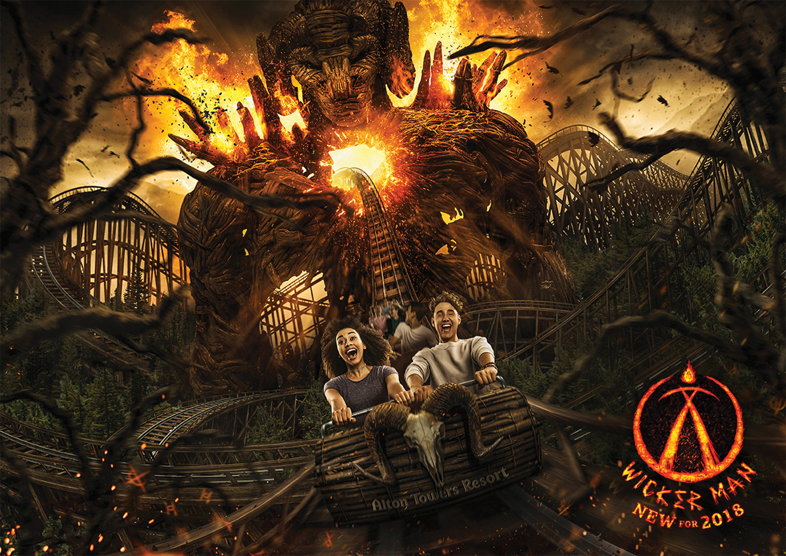 Wicker Man — Alton Towers