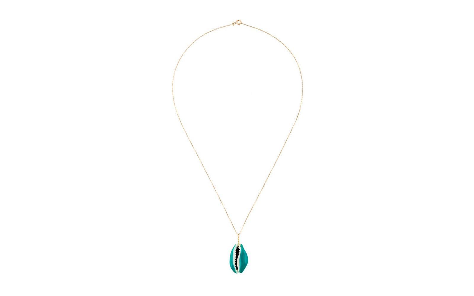 aurelie bidermann shell necklace