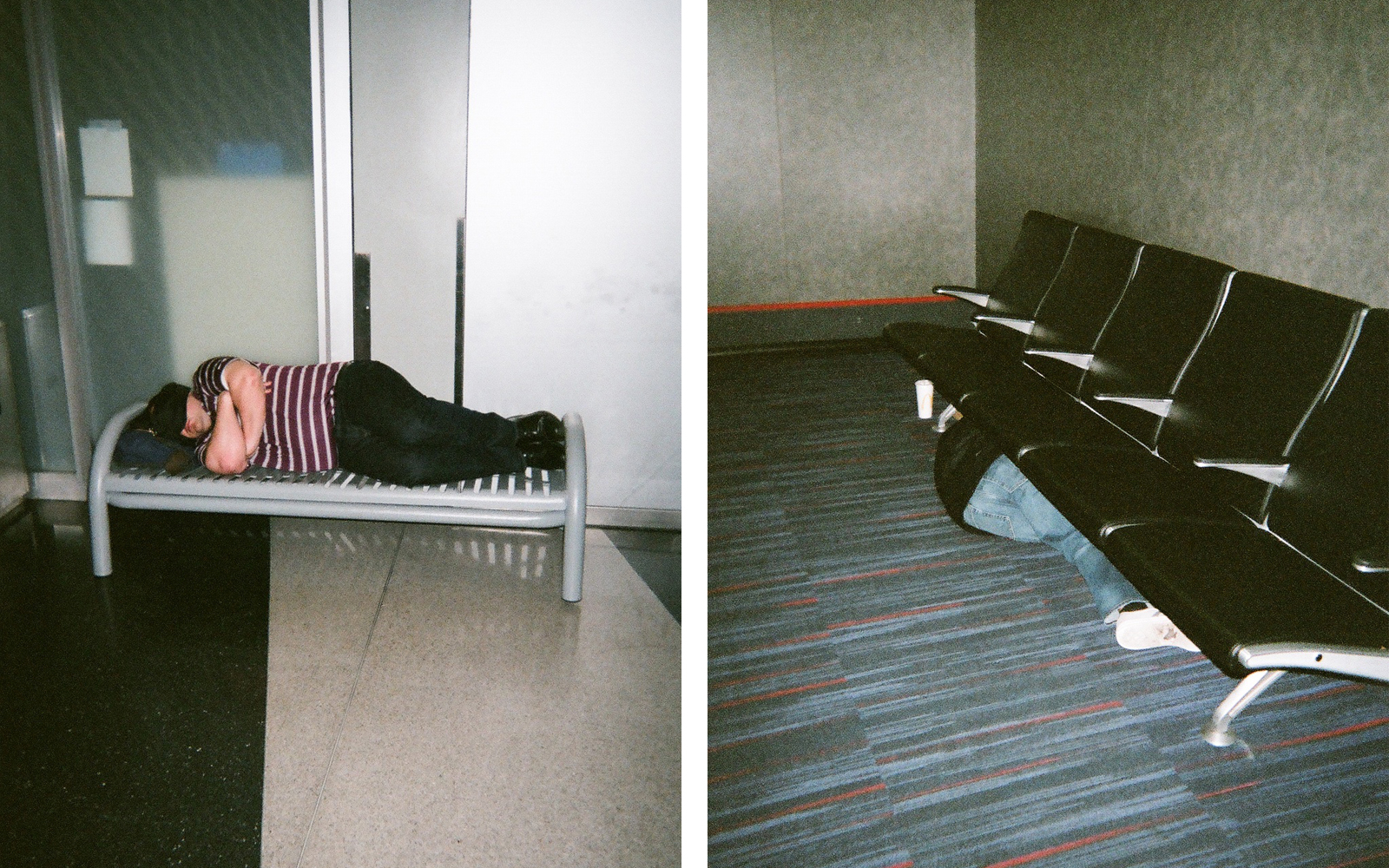 Sleeping Overnight at the Airport
