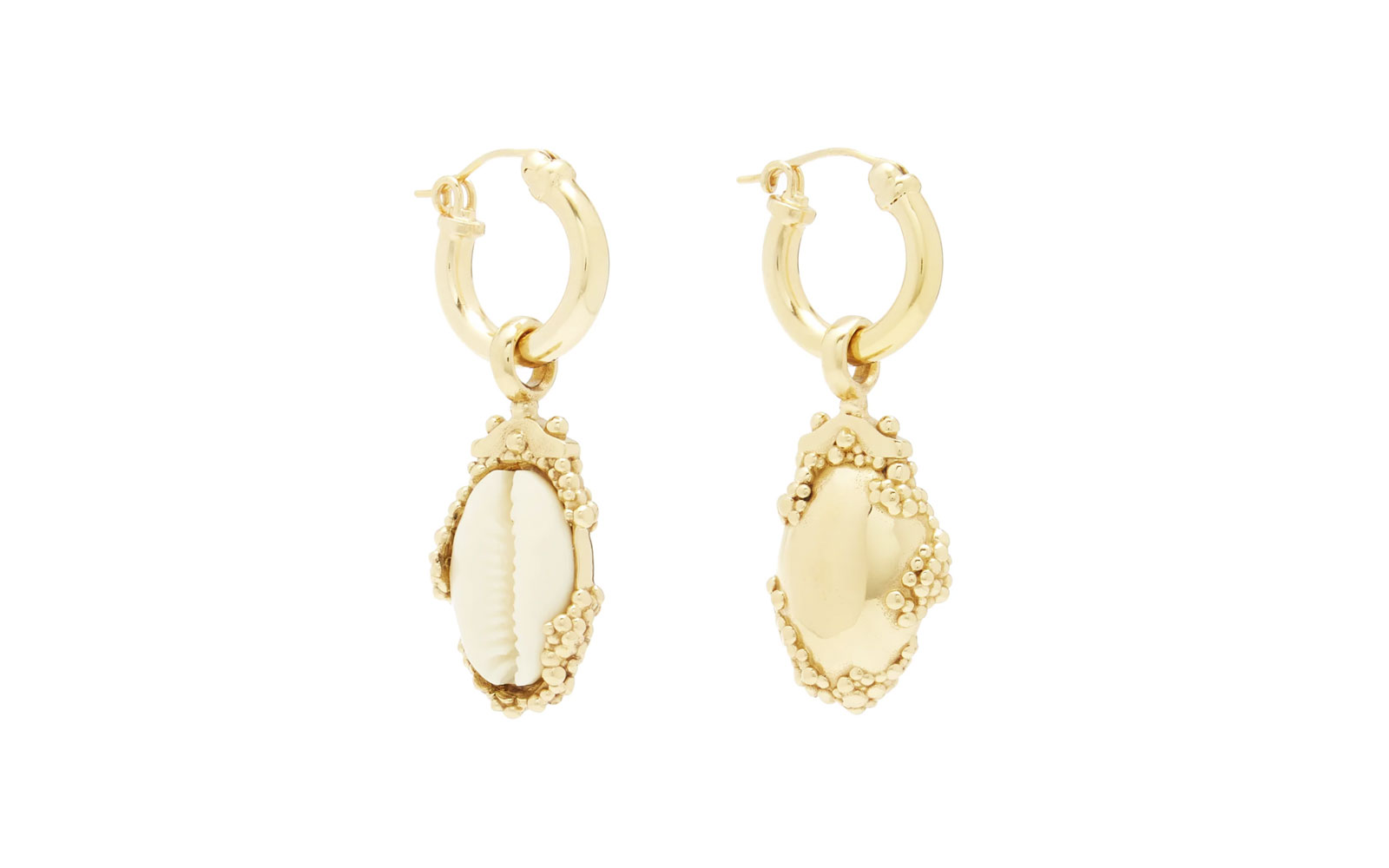 ellery shell earrings