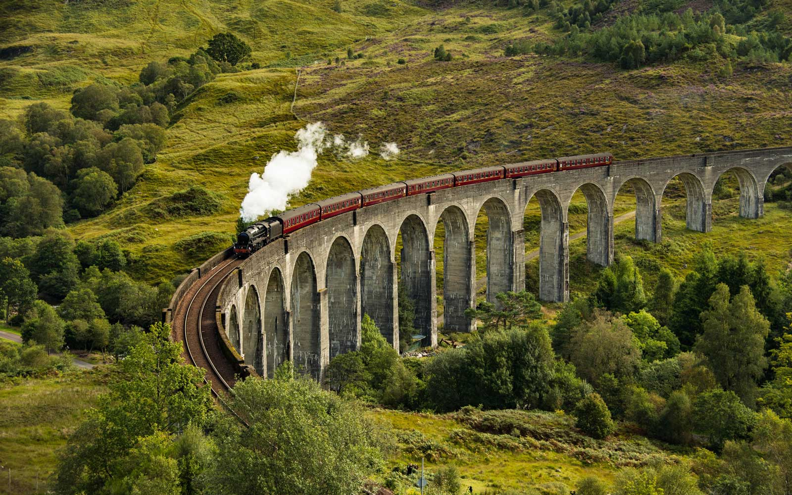Hogwarts Express Train, National Railway UK