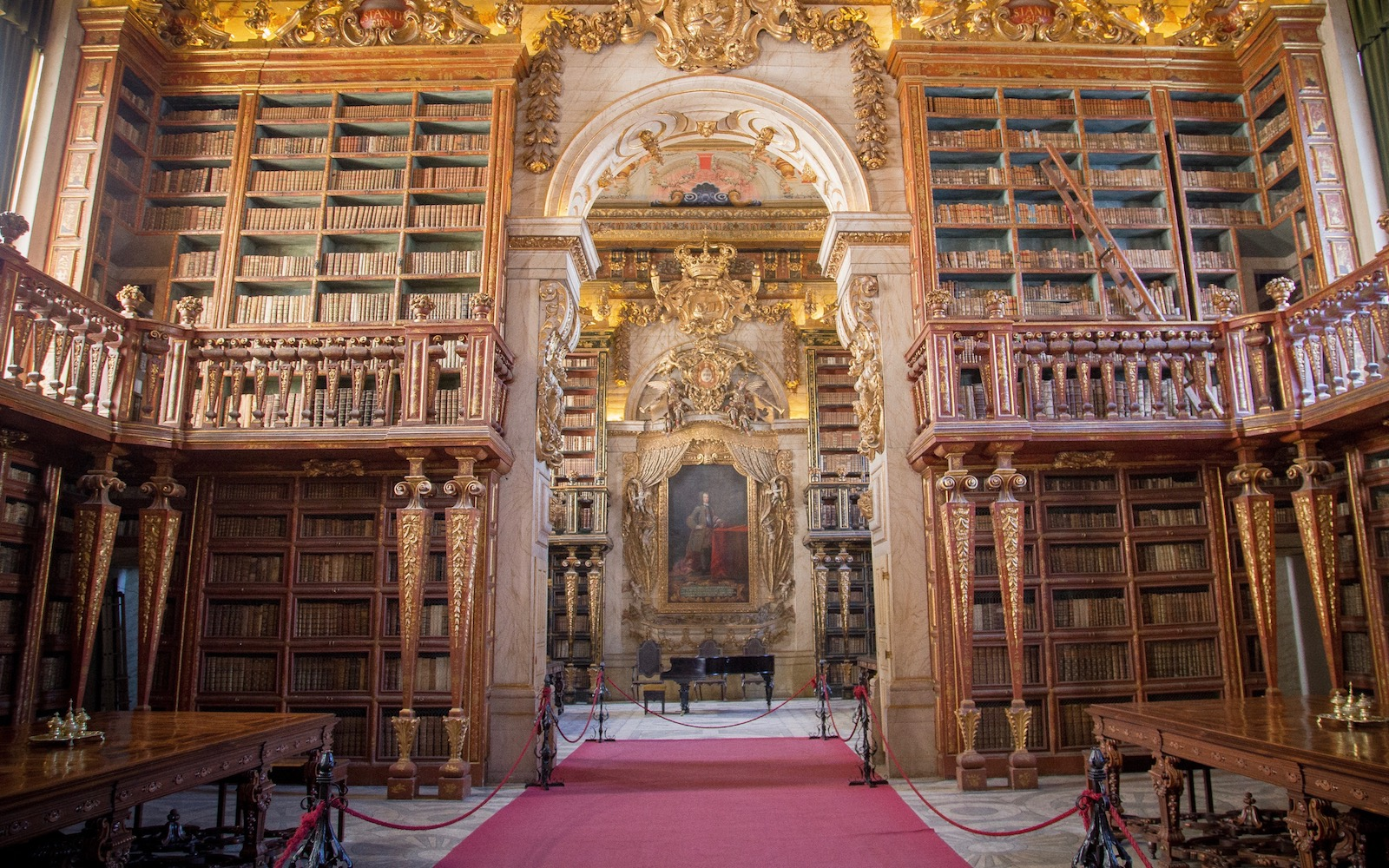 University of Coimbra library in Portugal