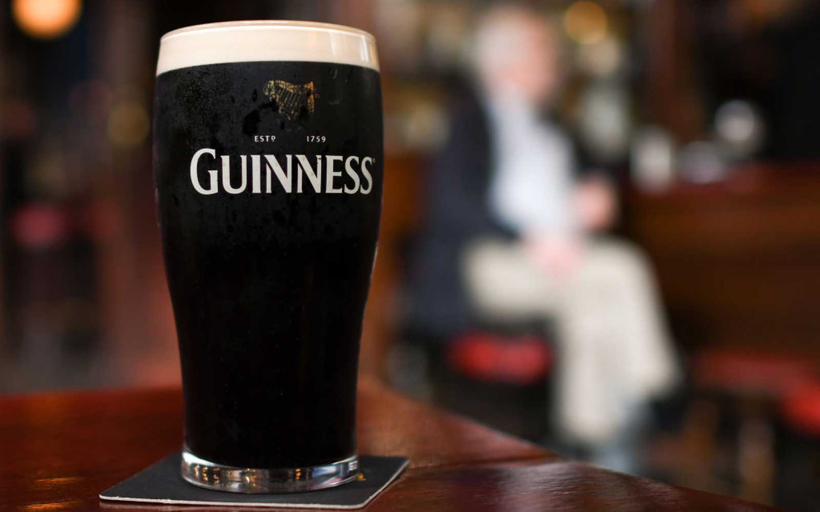 A perfect pint of Guinness in Dublin