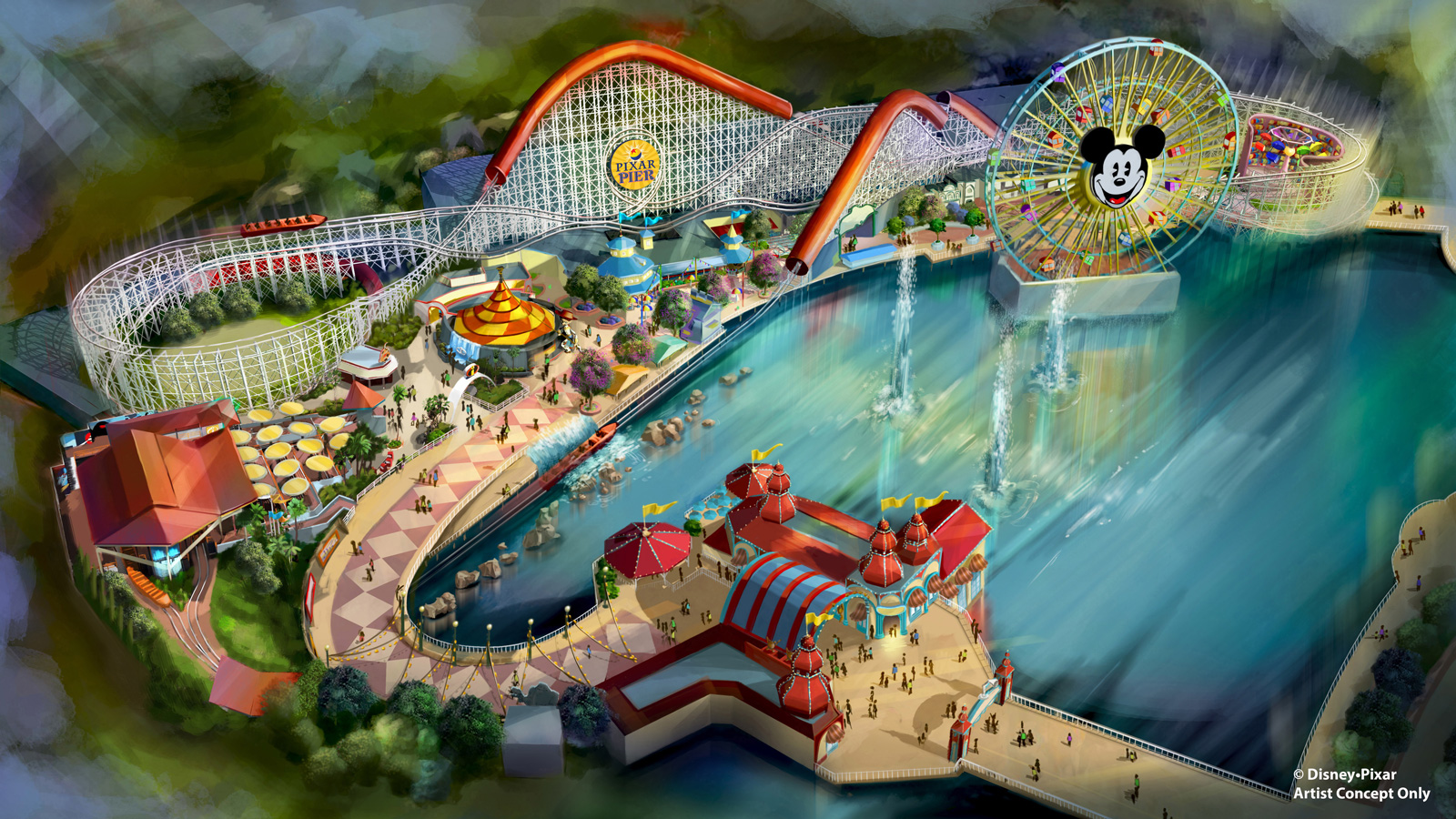 The Incredicoaster is opening at Disney's California Adventure.