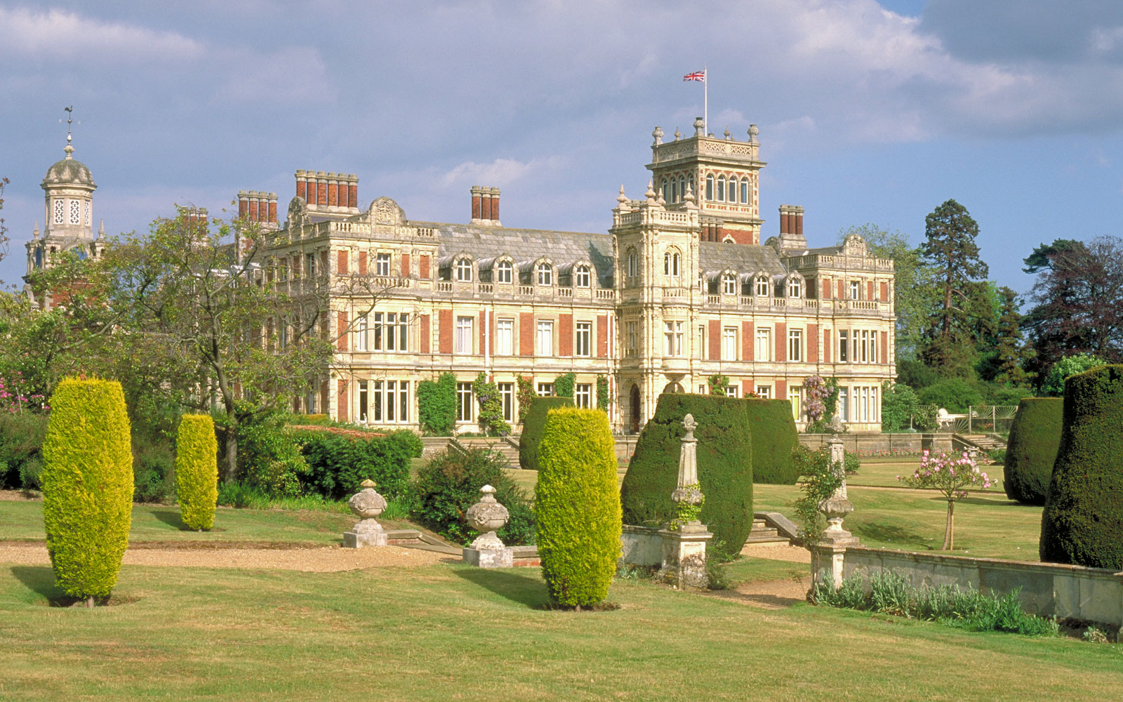 Somerleyton Estate in Suffolk, England