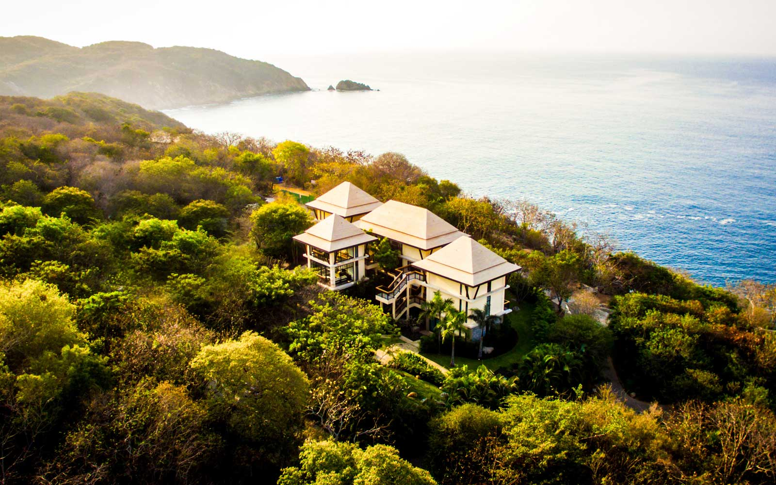 Aerial View of the Banyan Tree Cabo Marques