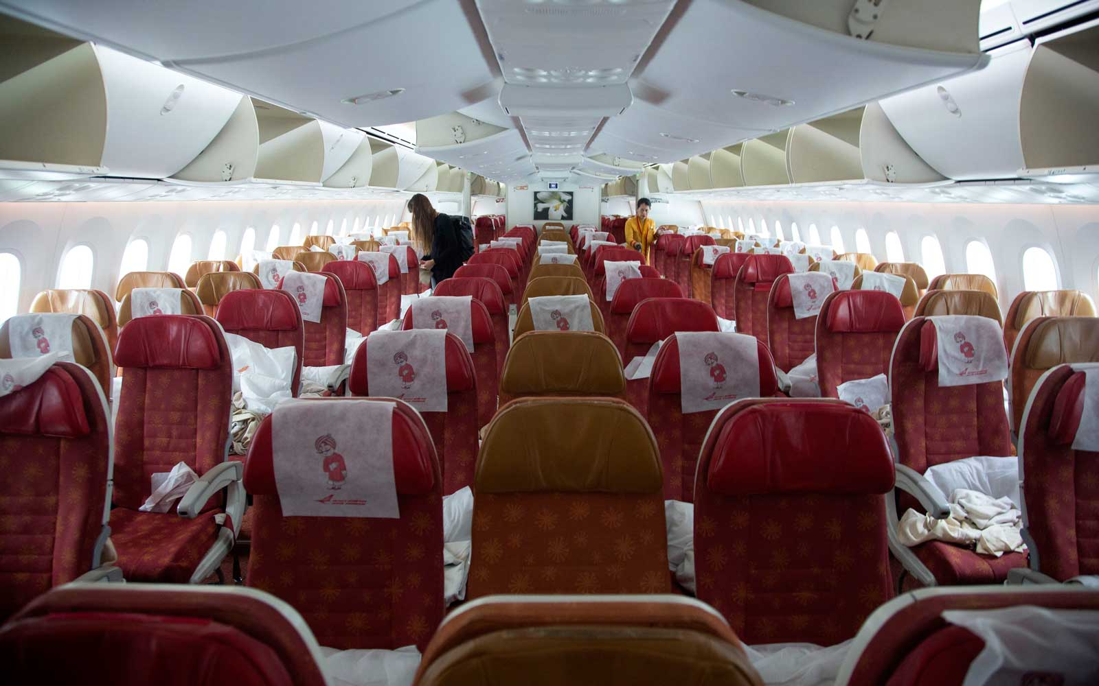 Flying with Air India's Boeing 787