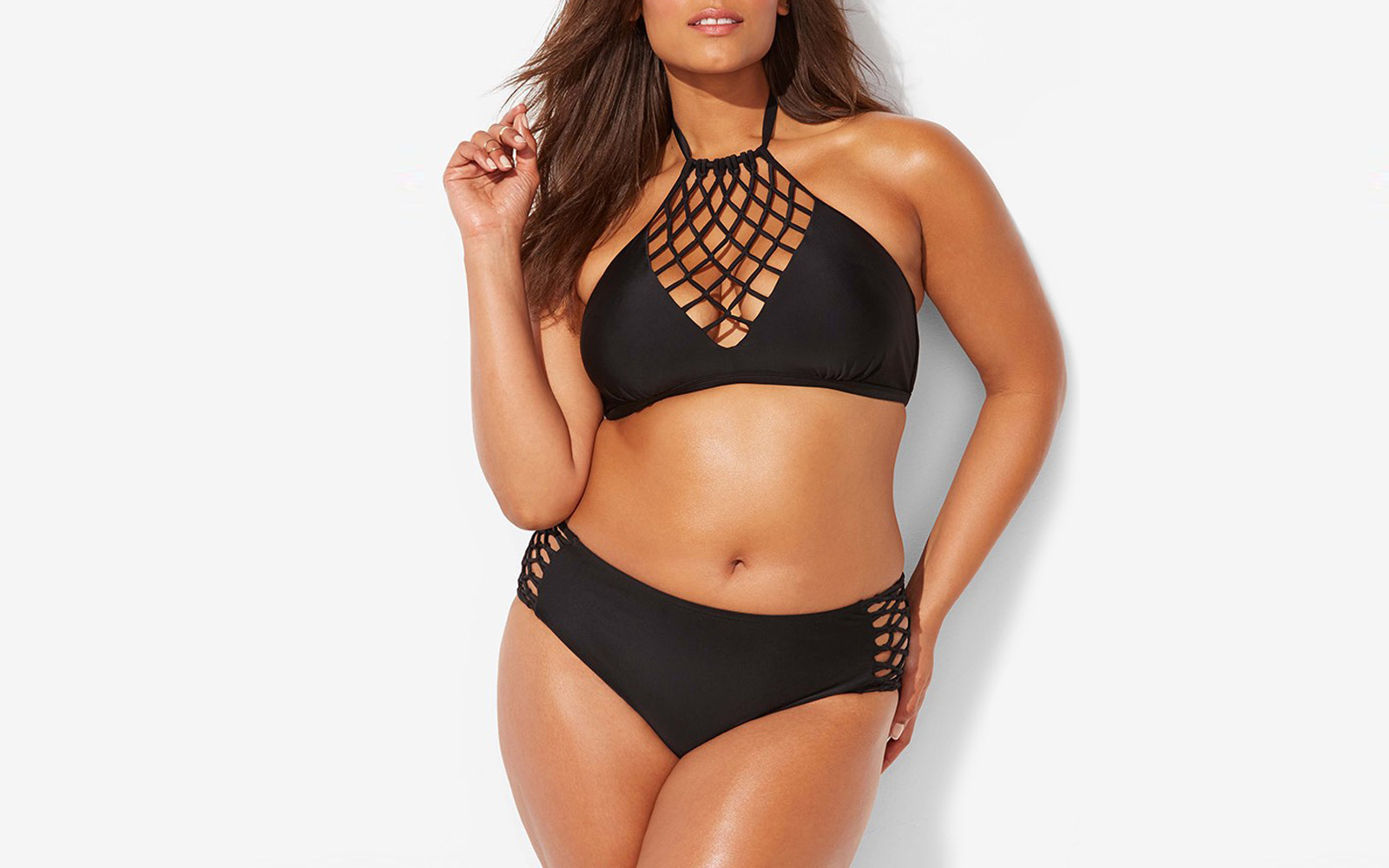 Ashley Graham x Swimsuits for All bikini