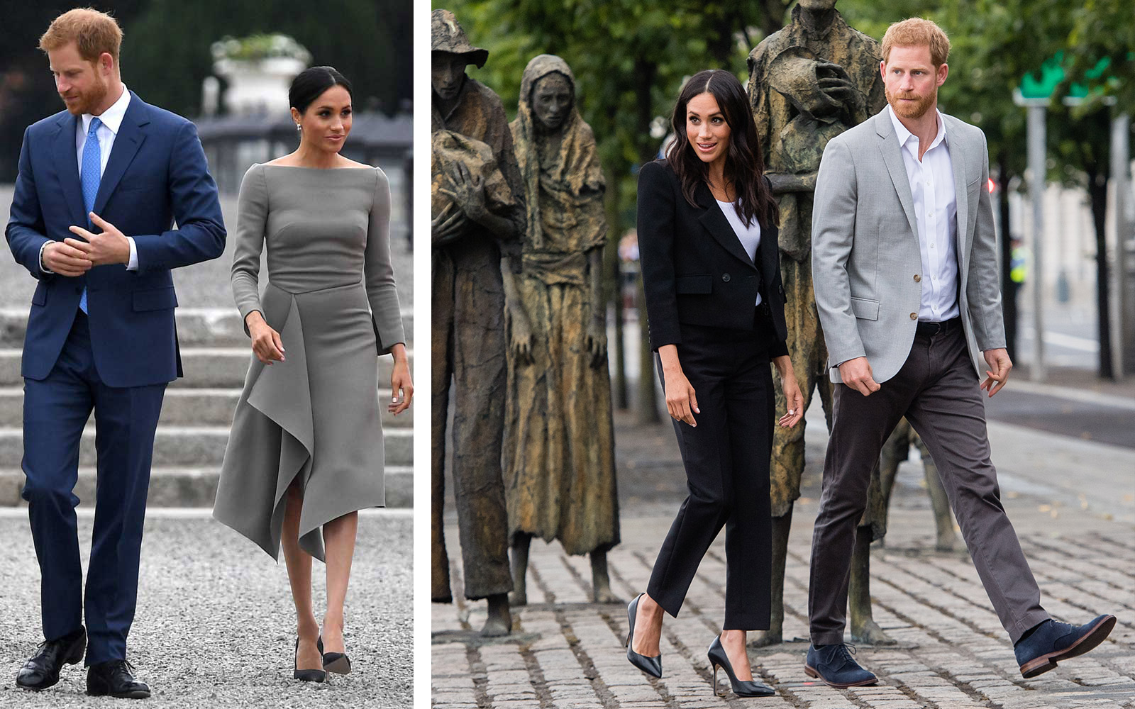Duchess Meghan of Sussex and Prince Harry in Dublin, Ireland