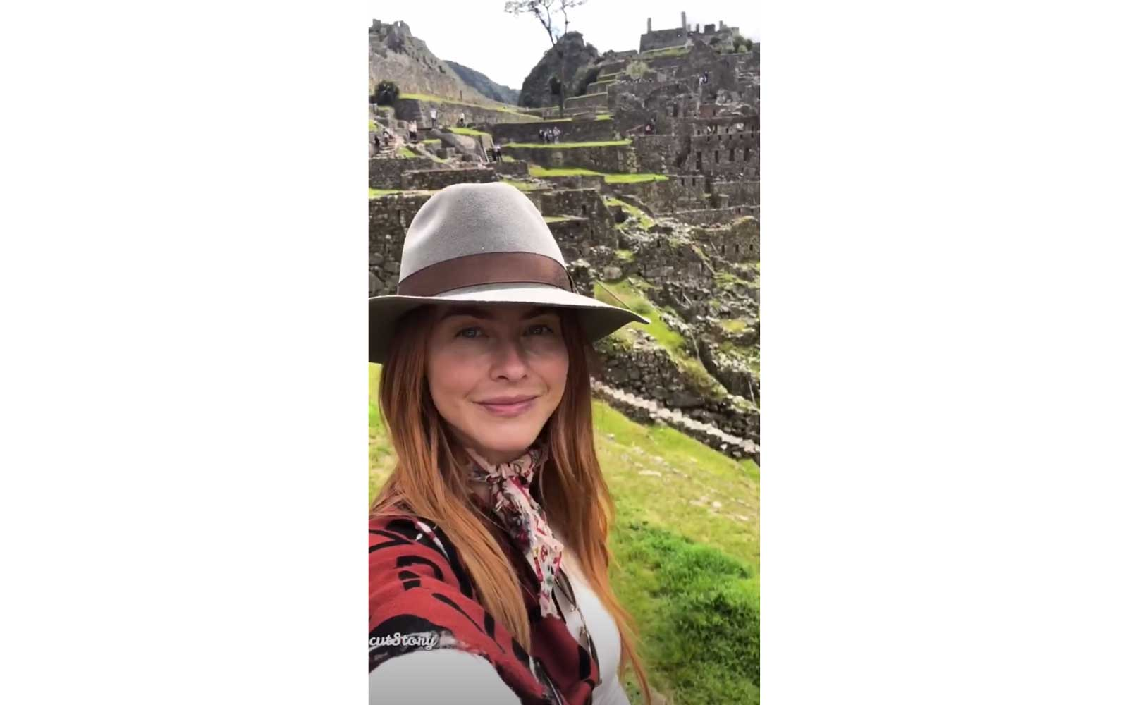 Julianne Hough in Peru