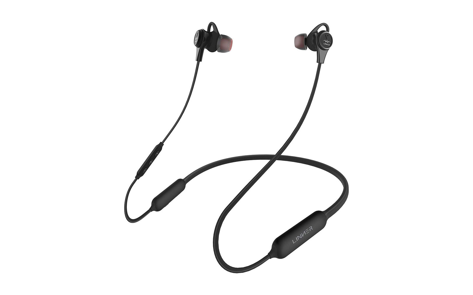 LINNER In Ear Noise Cancelling Headphones, Wireless Bluetooth Earbuds