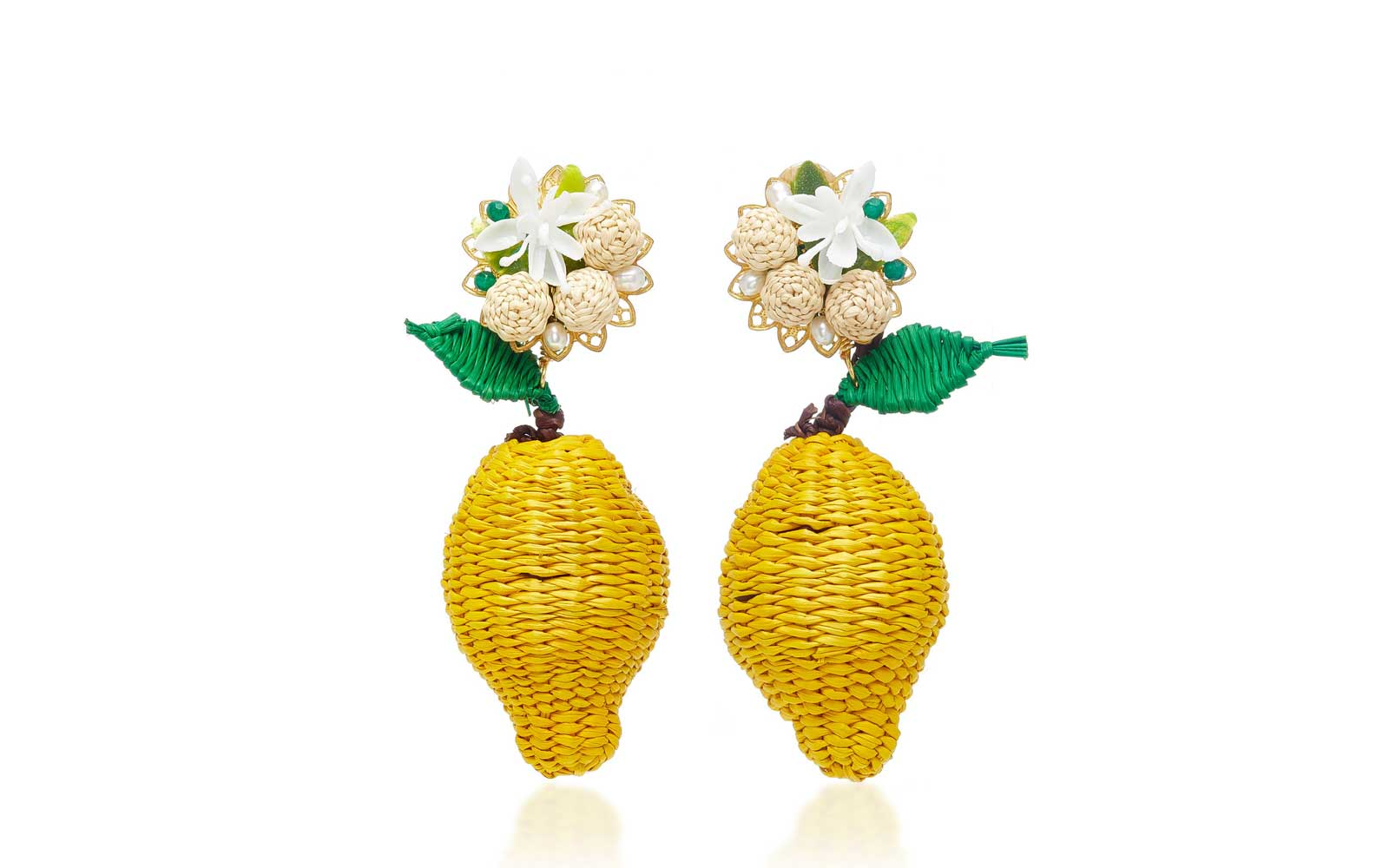 Mercedes Salazar Limon Silvestre Earrings