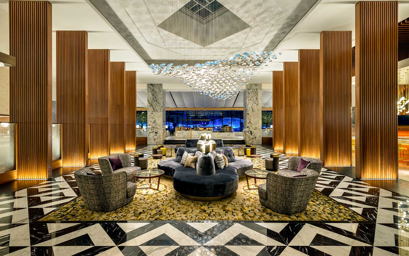 Lobby of The Ritz-Carlton, Chicago