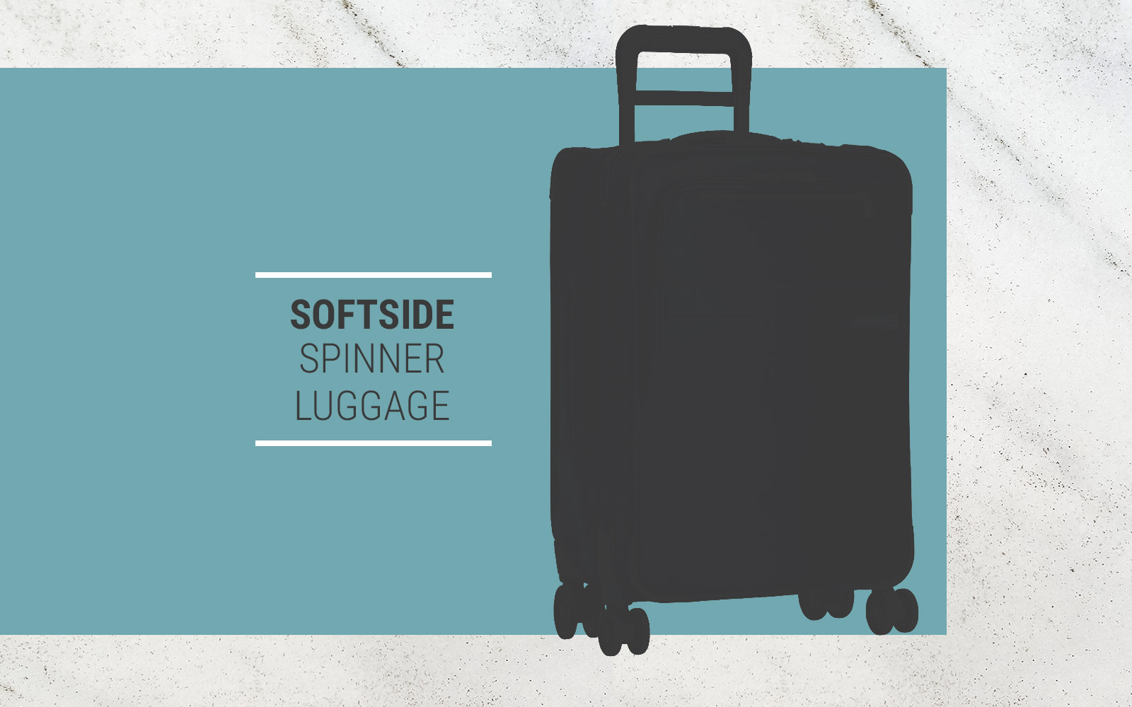 softside spinner luggage