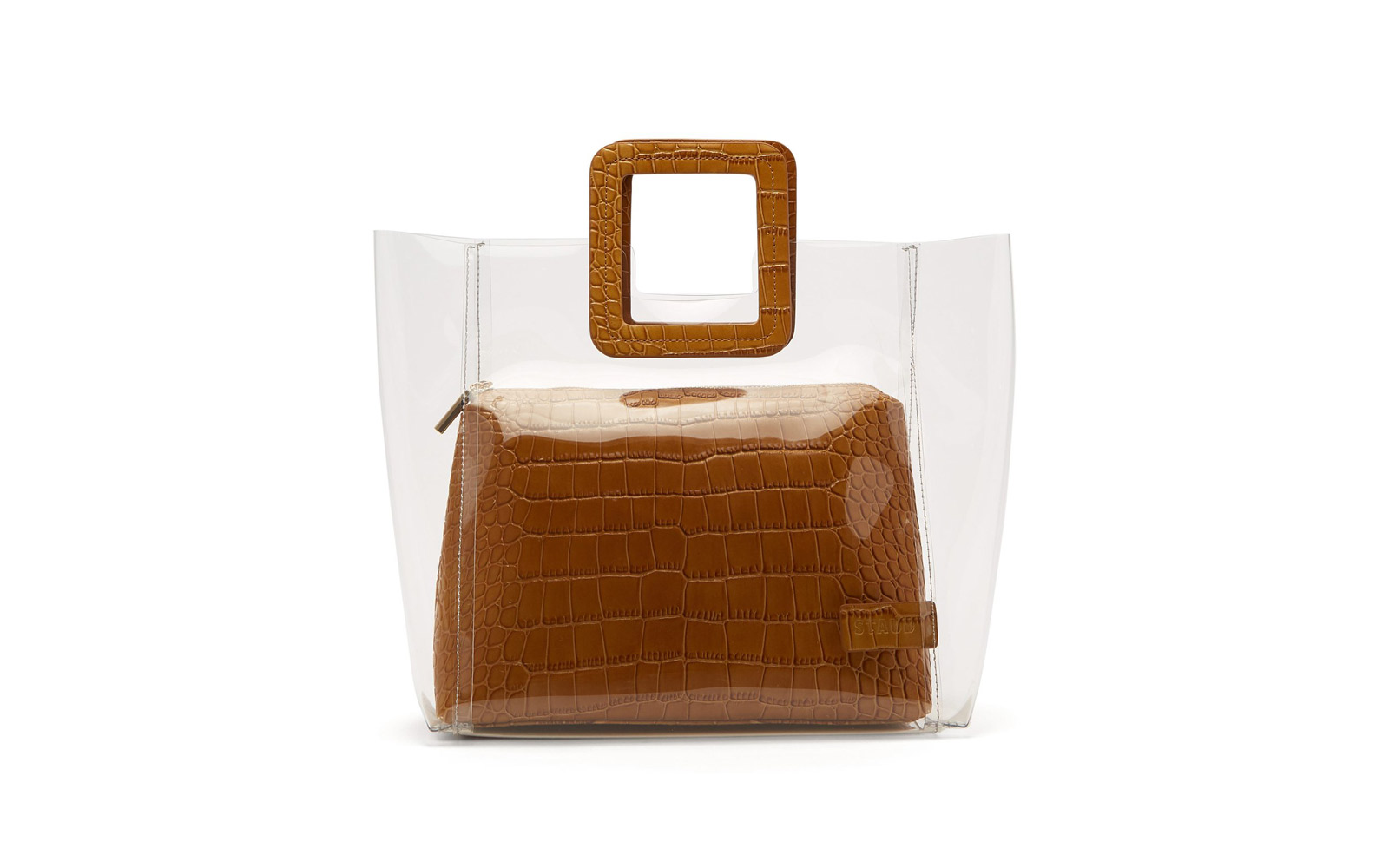 staud transparent bag