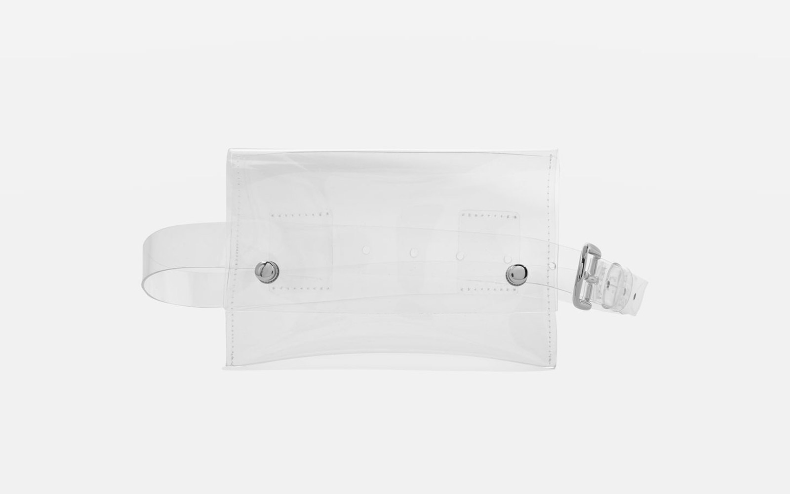 Topshop Clear Purse Belt
