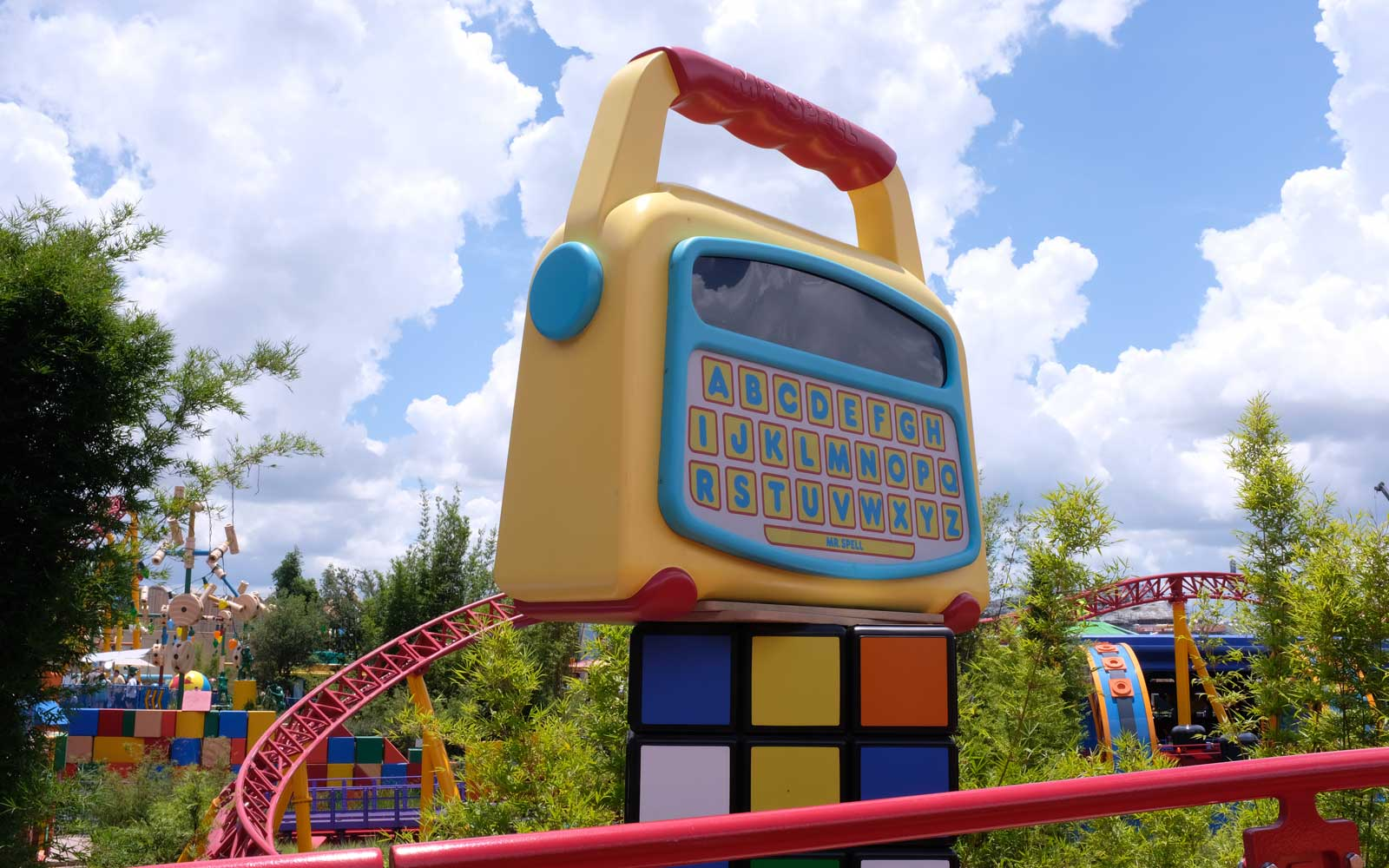 Toy Story Land at Disney World